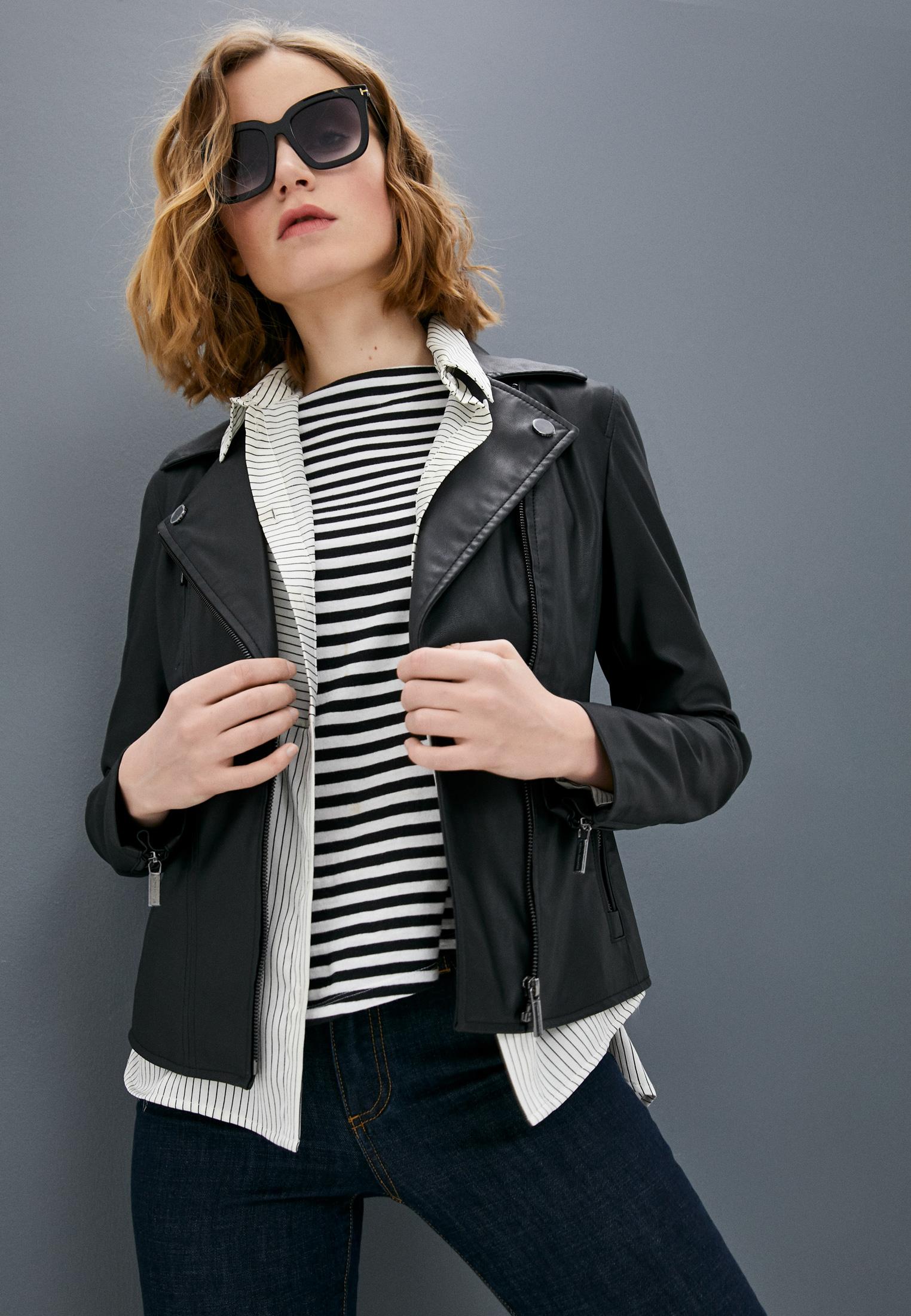 Кожаная куртка Armani Exchange 8NYB13 YNVLZ: изображение 2