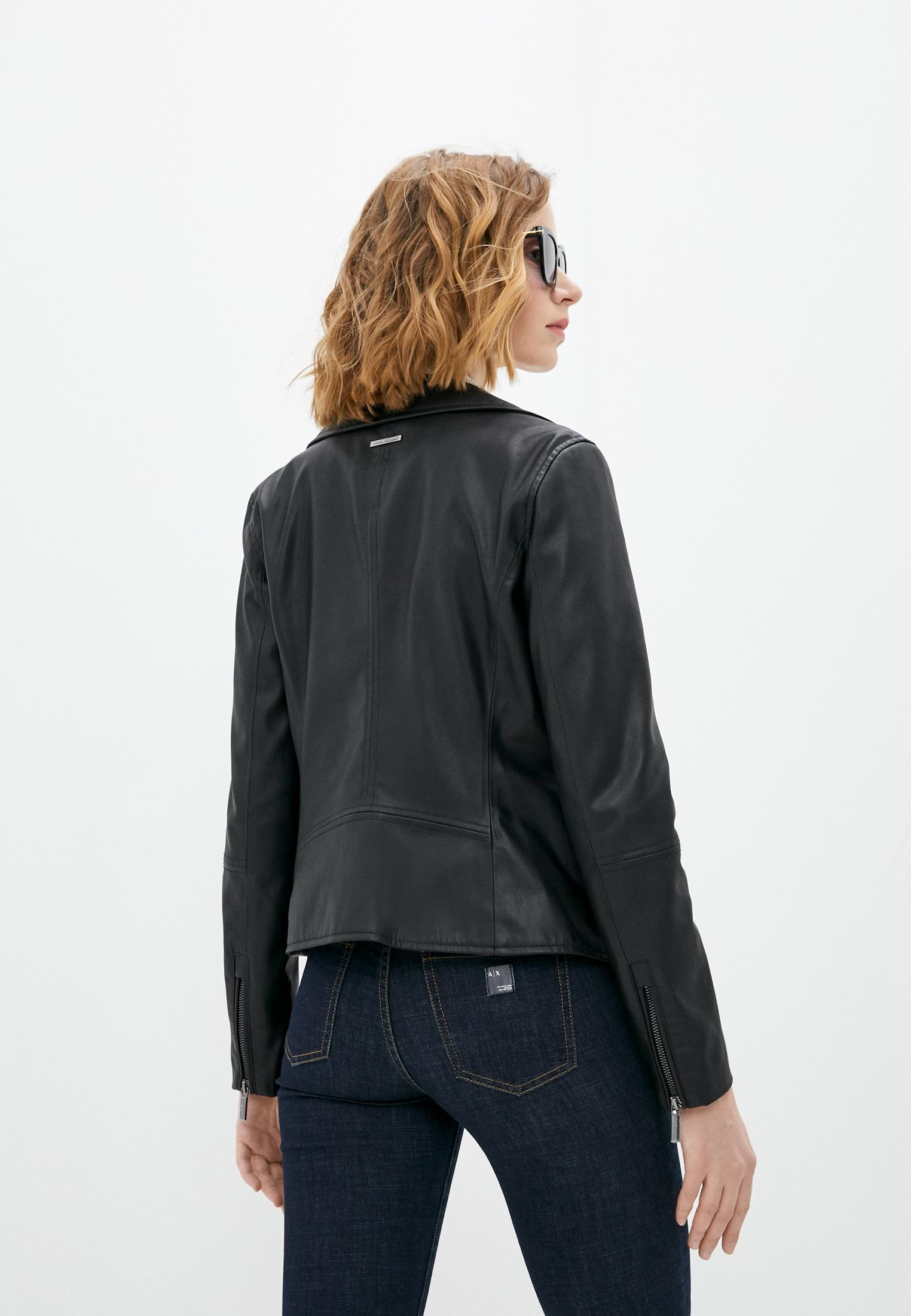 Кожаная куртка Armani Exchange 8NYB13 YNVLZ: изображение 4