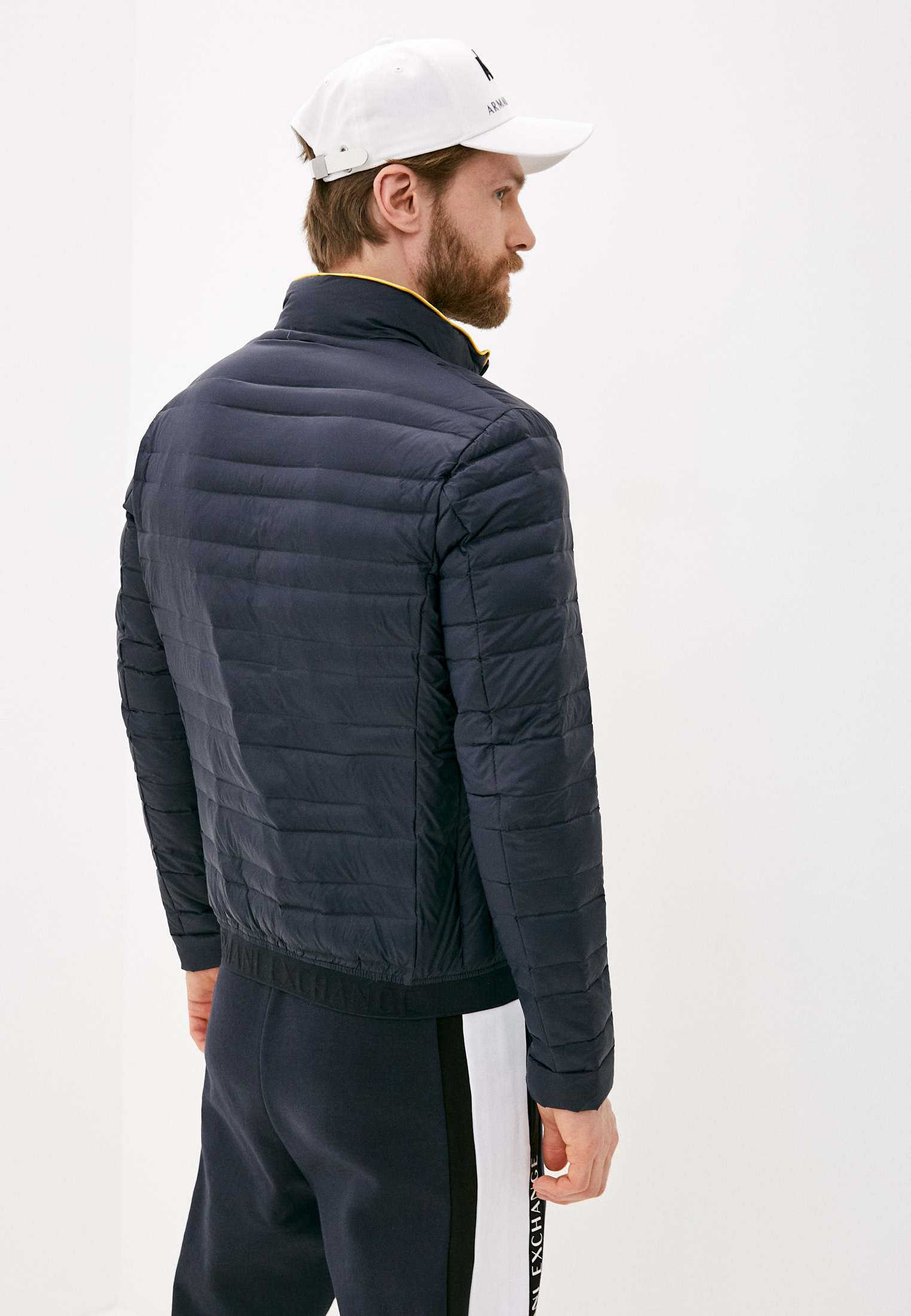 Утепленная куртка Armani Exchange 8NZB51 ZNW3Z: изображение 4