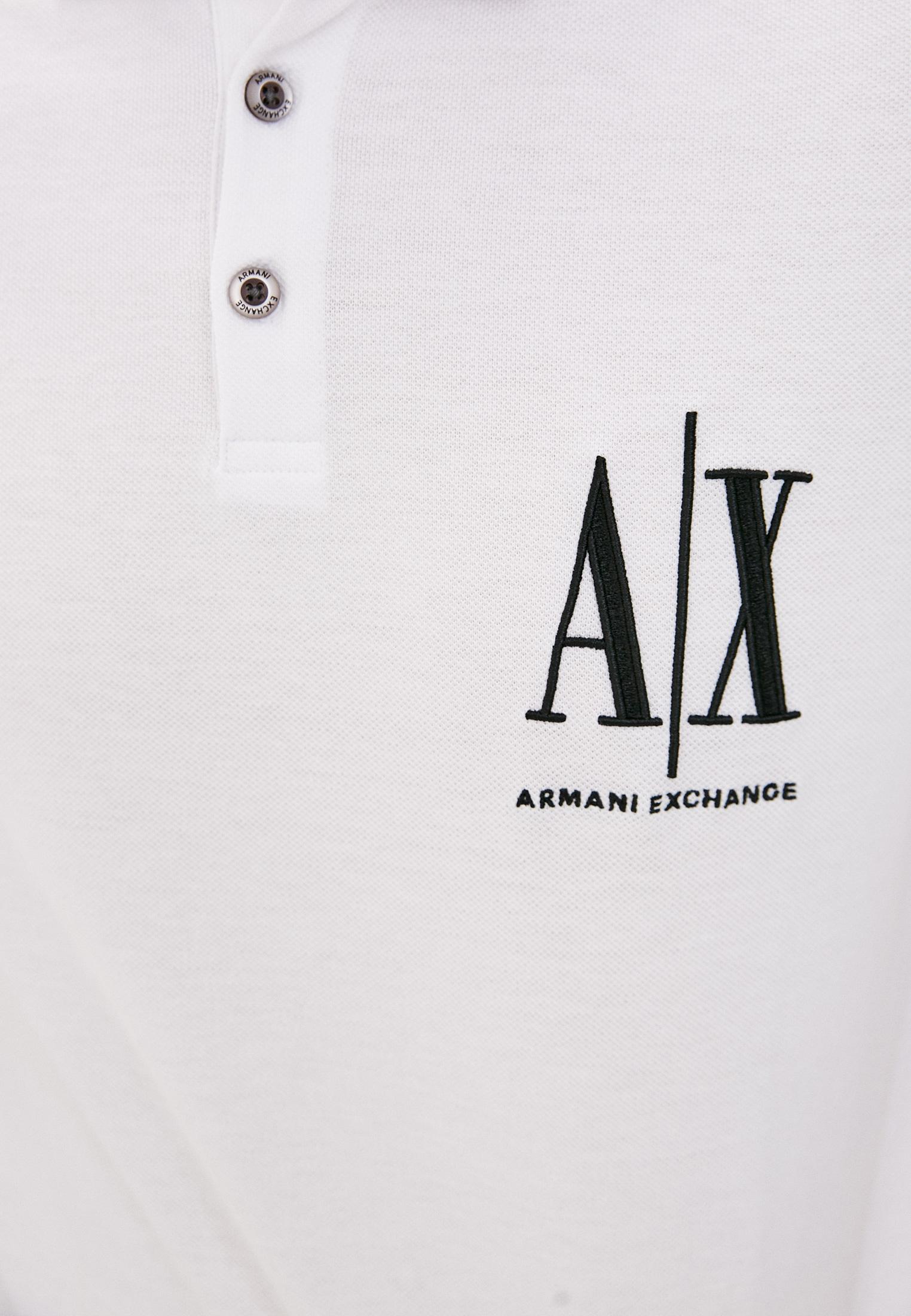 Мужские поло Armani Exchange 8NZFPA Z8M5Z: изображение 5