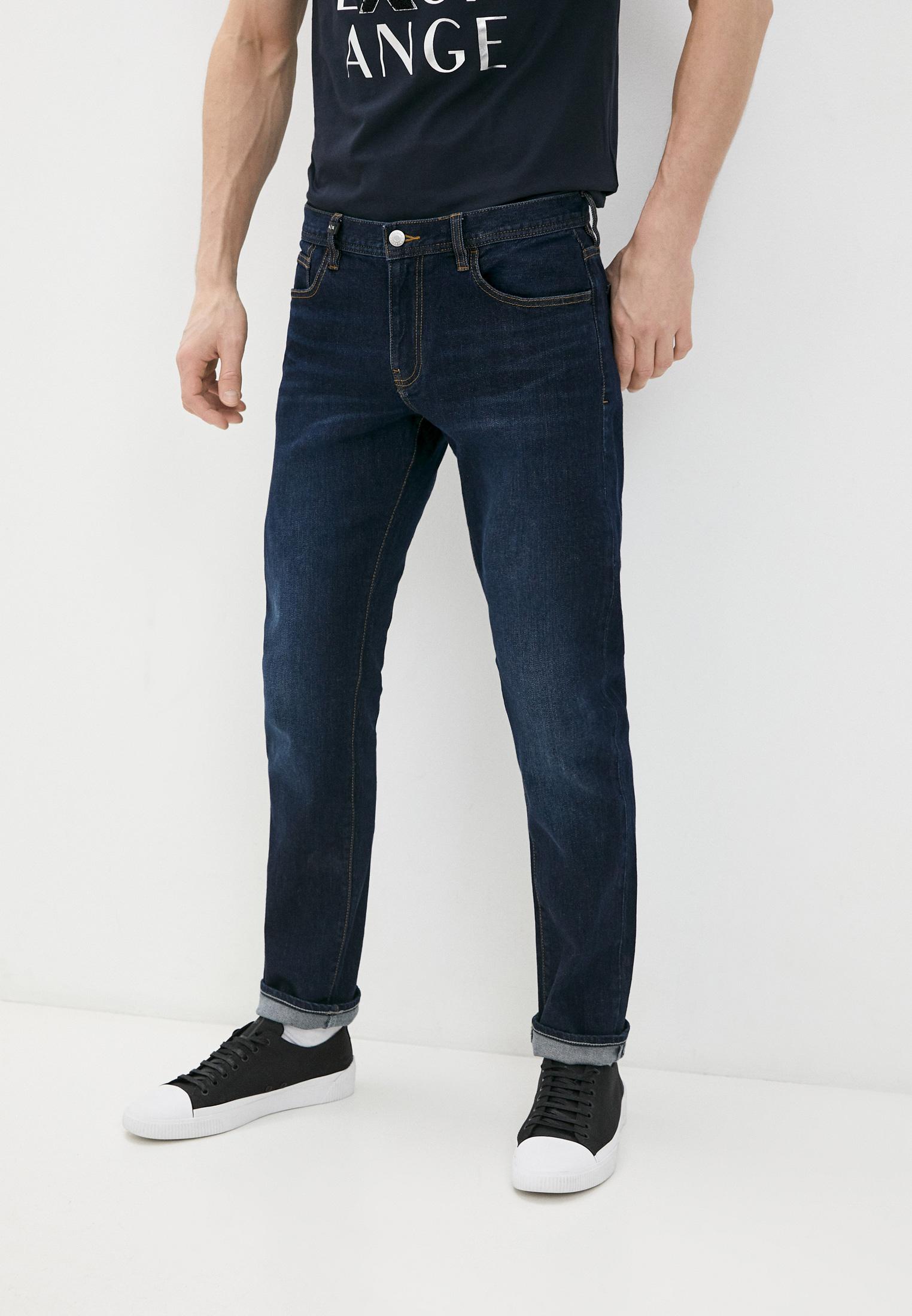 Мужские прямые джинсы Armani Exchange Джинсы Armani Exchange