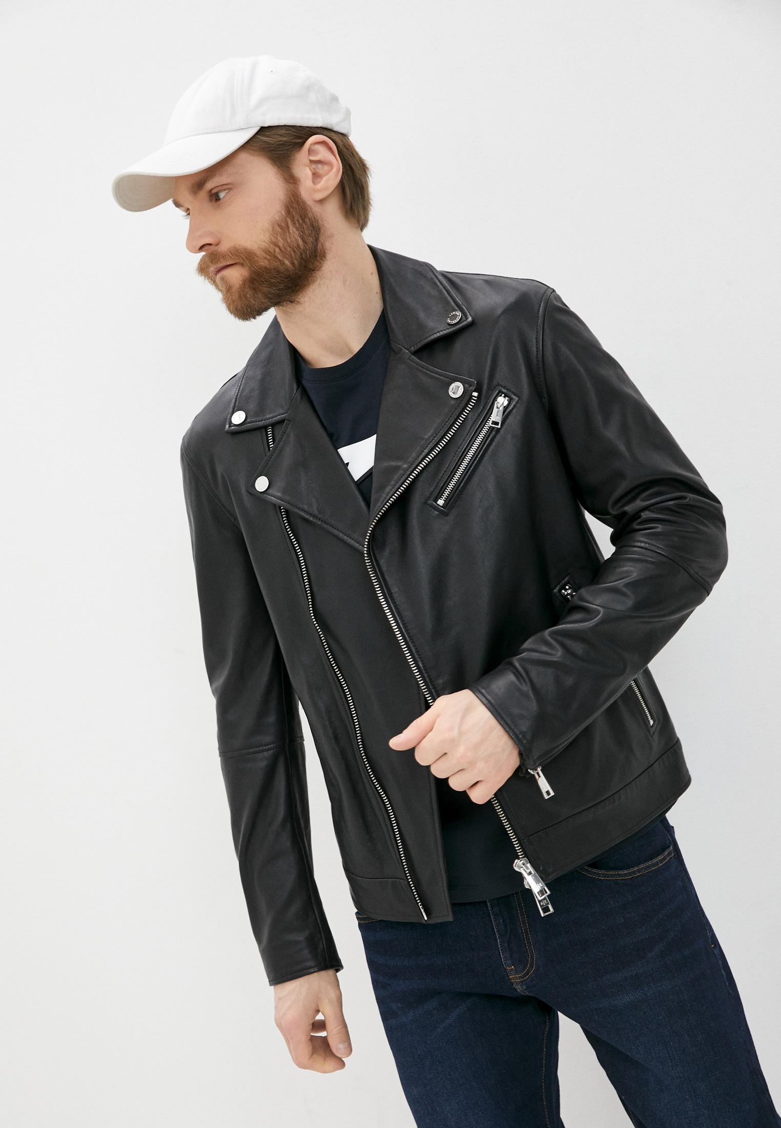 Кожаная куртка Armani Exchange A9R01P A9P01: изображение 1