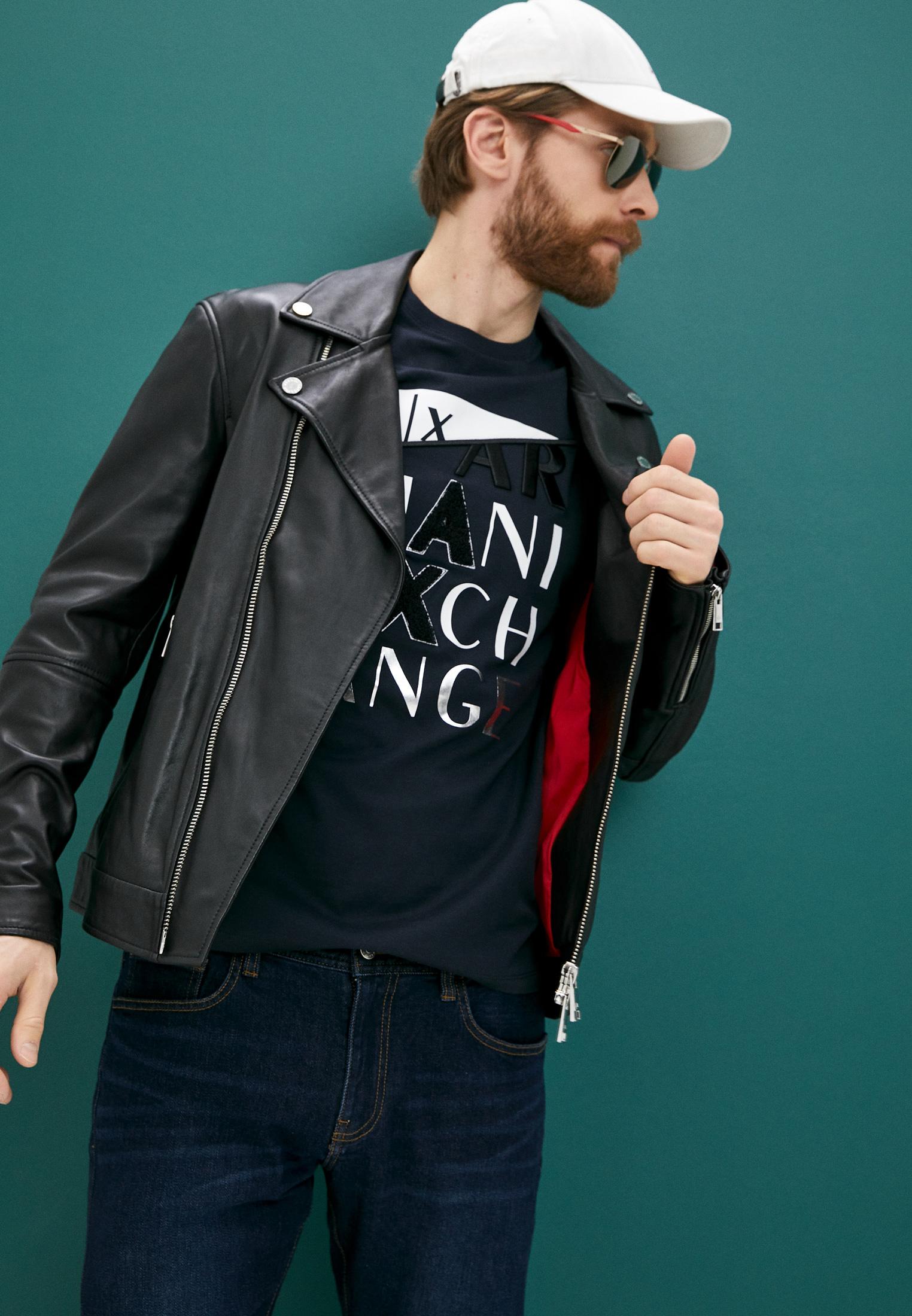 Кожаная куртка Armani Exchange A9R01P A9P01: изображение 2