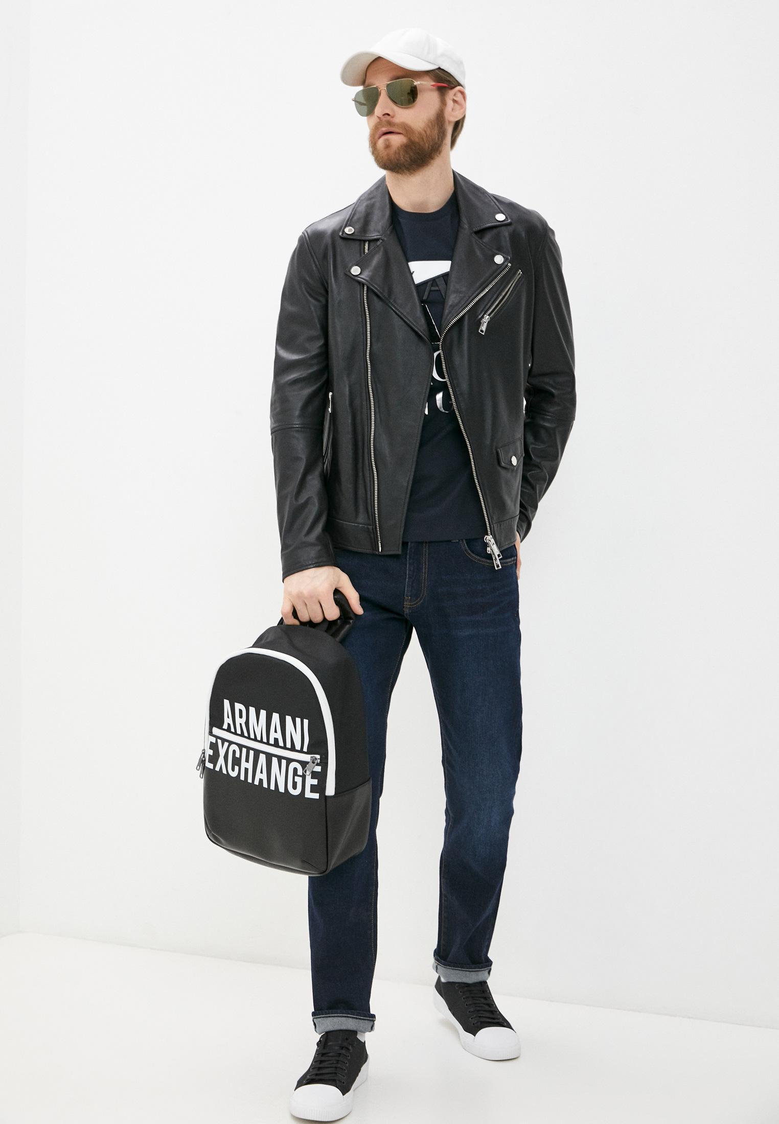 Кожаная куртка Armani Exchange A9R01P A9P01: изображение 3