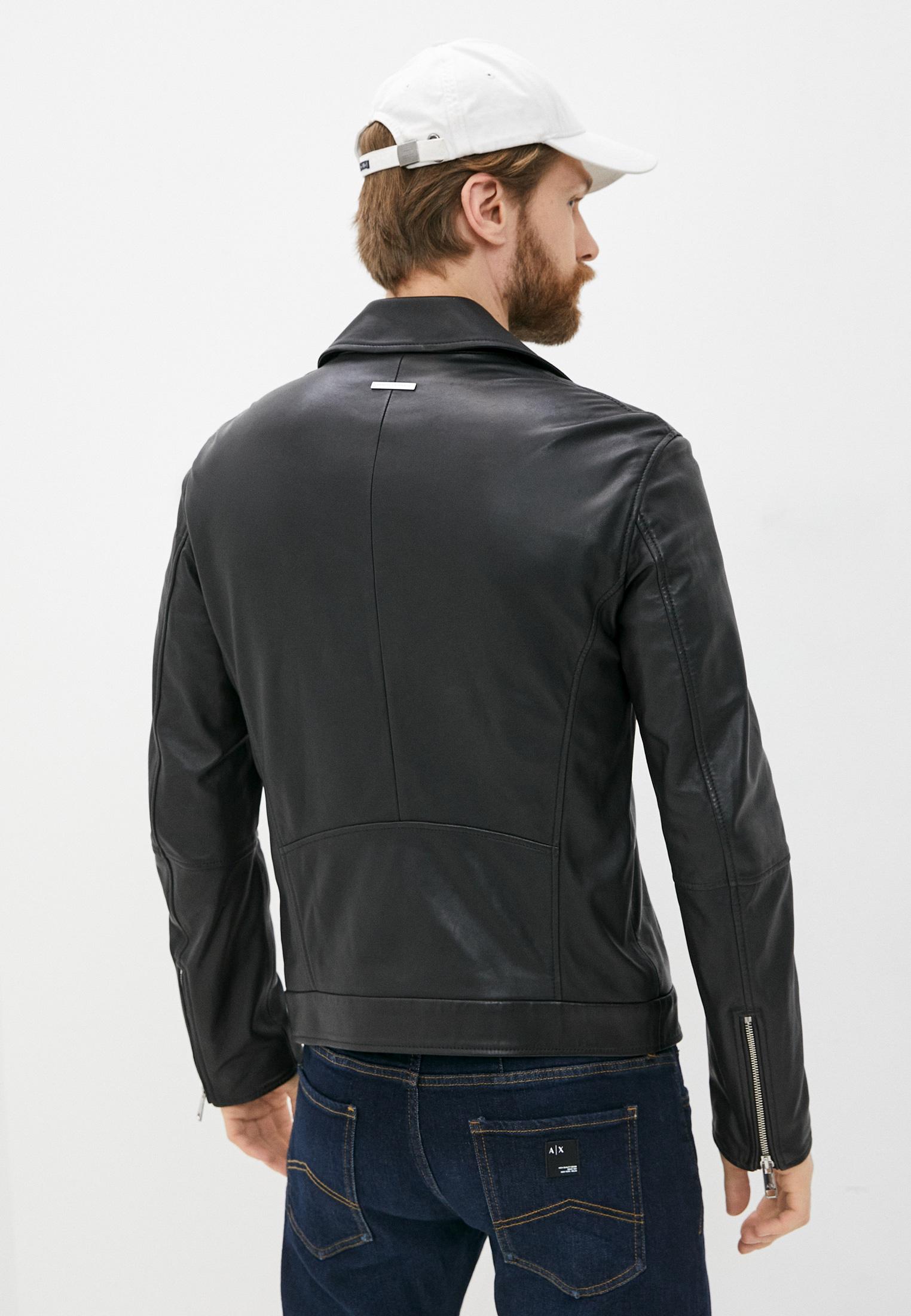 Кожаная куртка Armani Exchange A9R01P A9P01: изображение 4