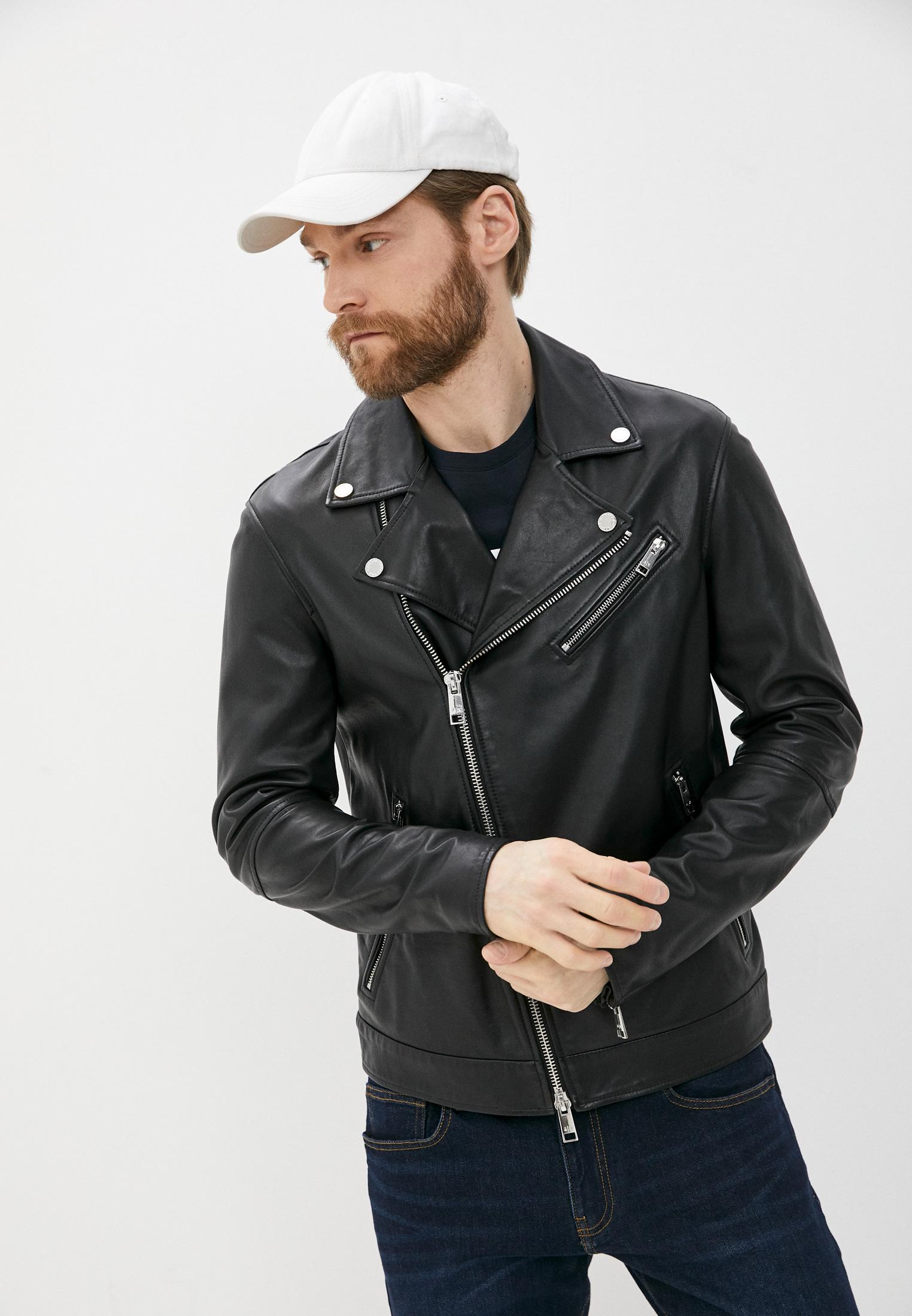 Кожаная куртка Armani Exchange A9R01P A9P01: изображение 6