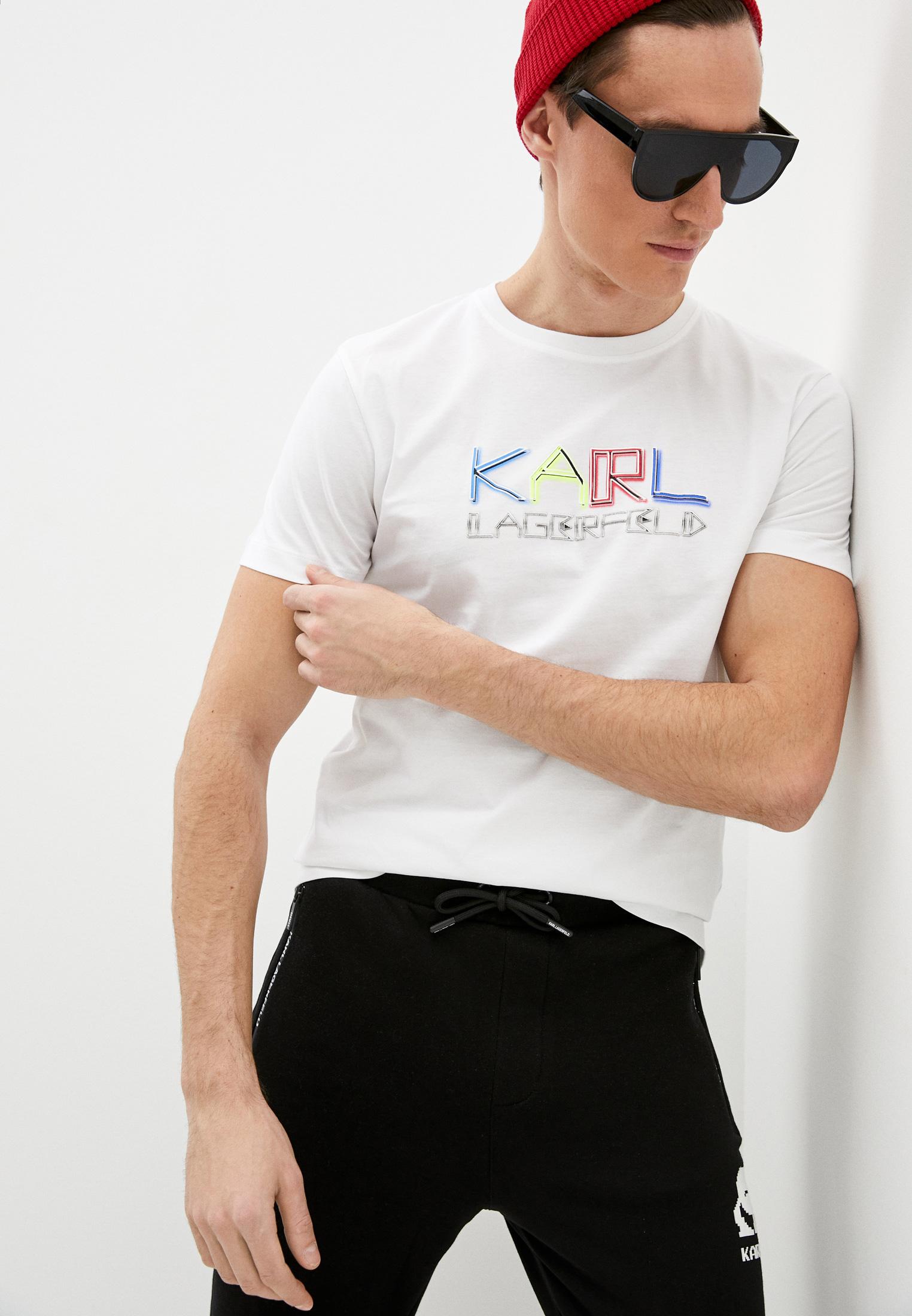 Мужская футболка Karl Lagerfeld (Карл Лагерфельд) 755062 511240