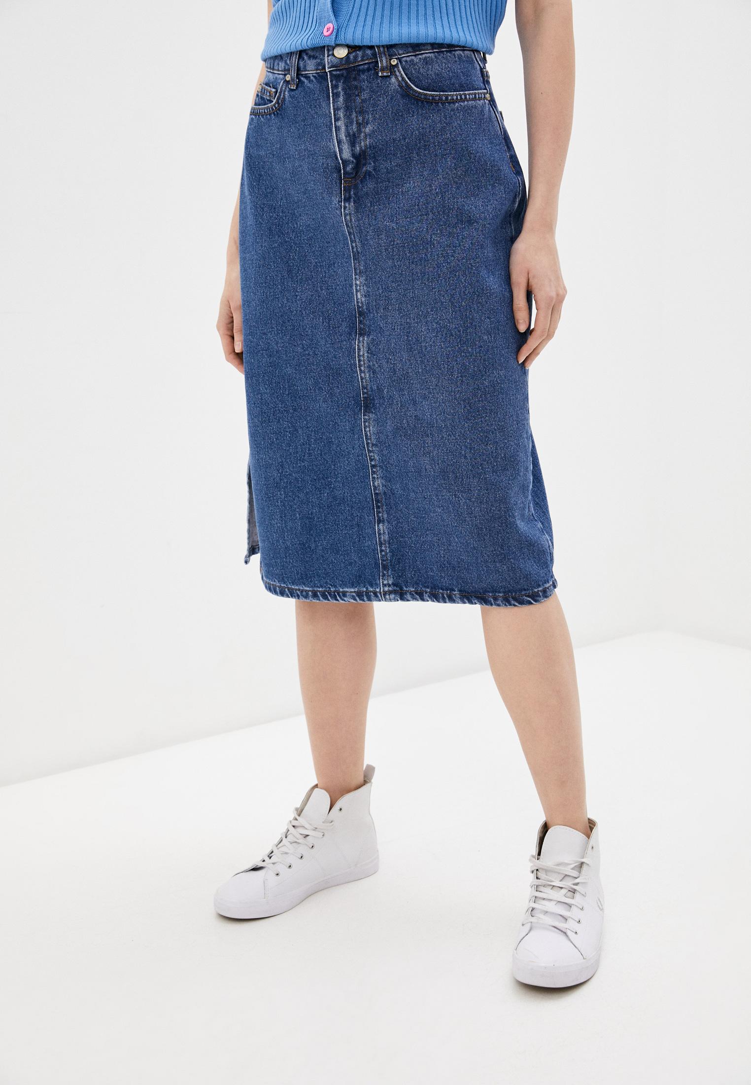 Джинсовая юбка Trendyol Юбка джинсовая Trendyol