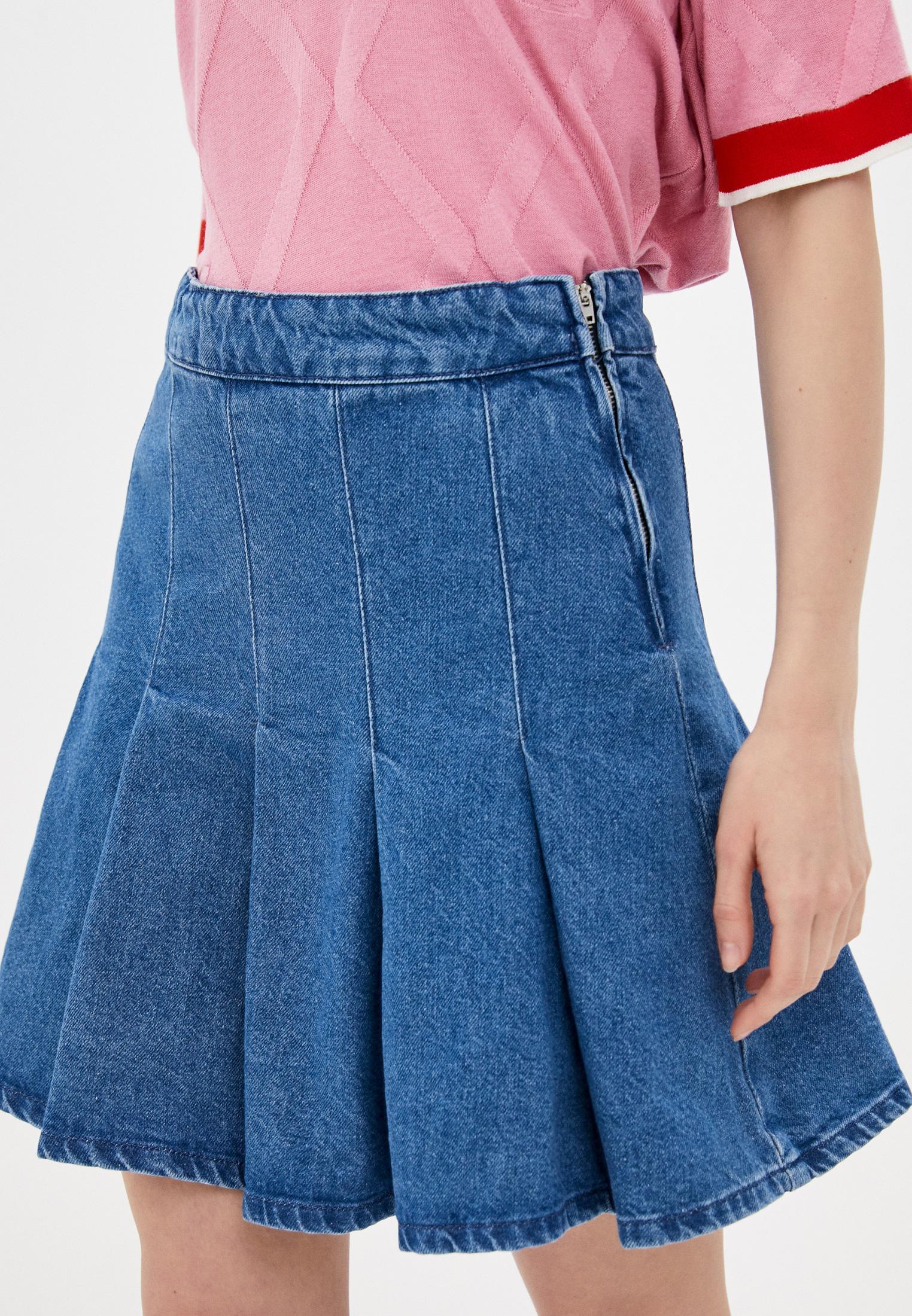 Джинсовая юбка Trendyol TWOSS21ET0221