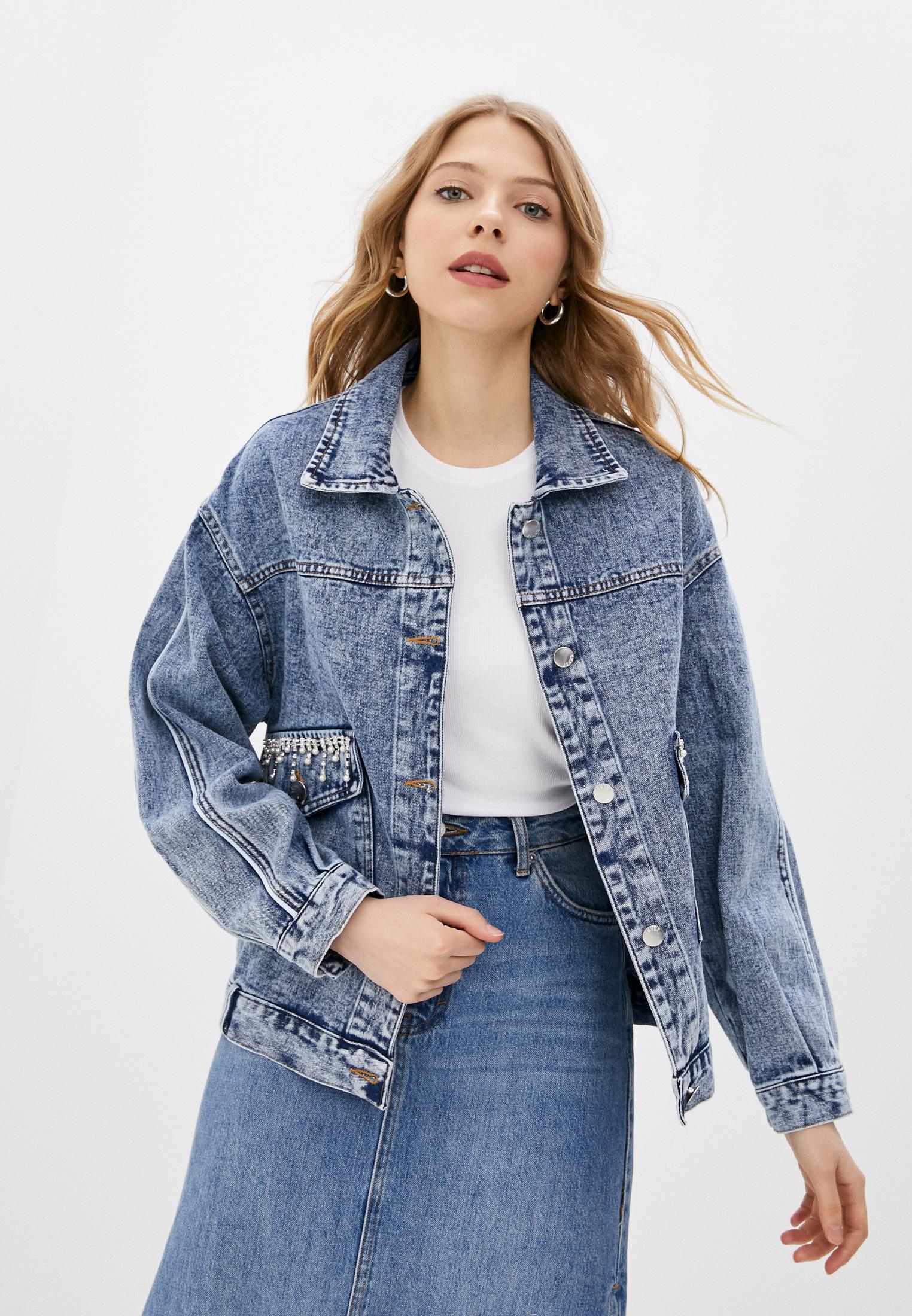 Джинсовая куртка TrendyAngel ТАO21O0015