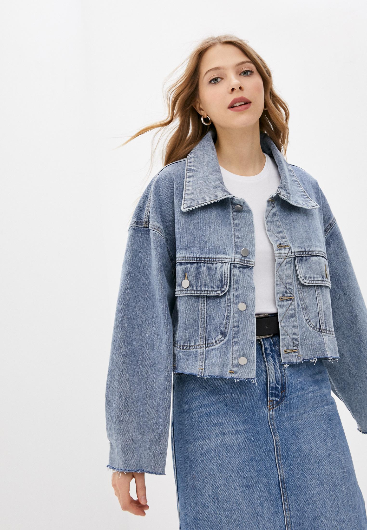 Джинсовая куртка TrendyAngel ТАO21O0017