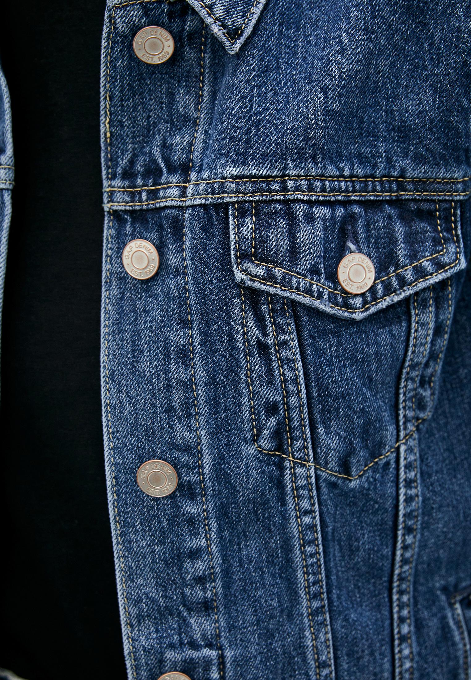 Джинсовая куртка Gap 610491: изображение 8