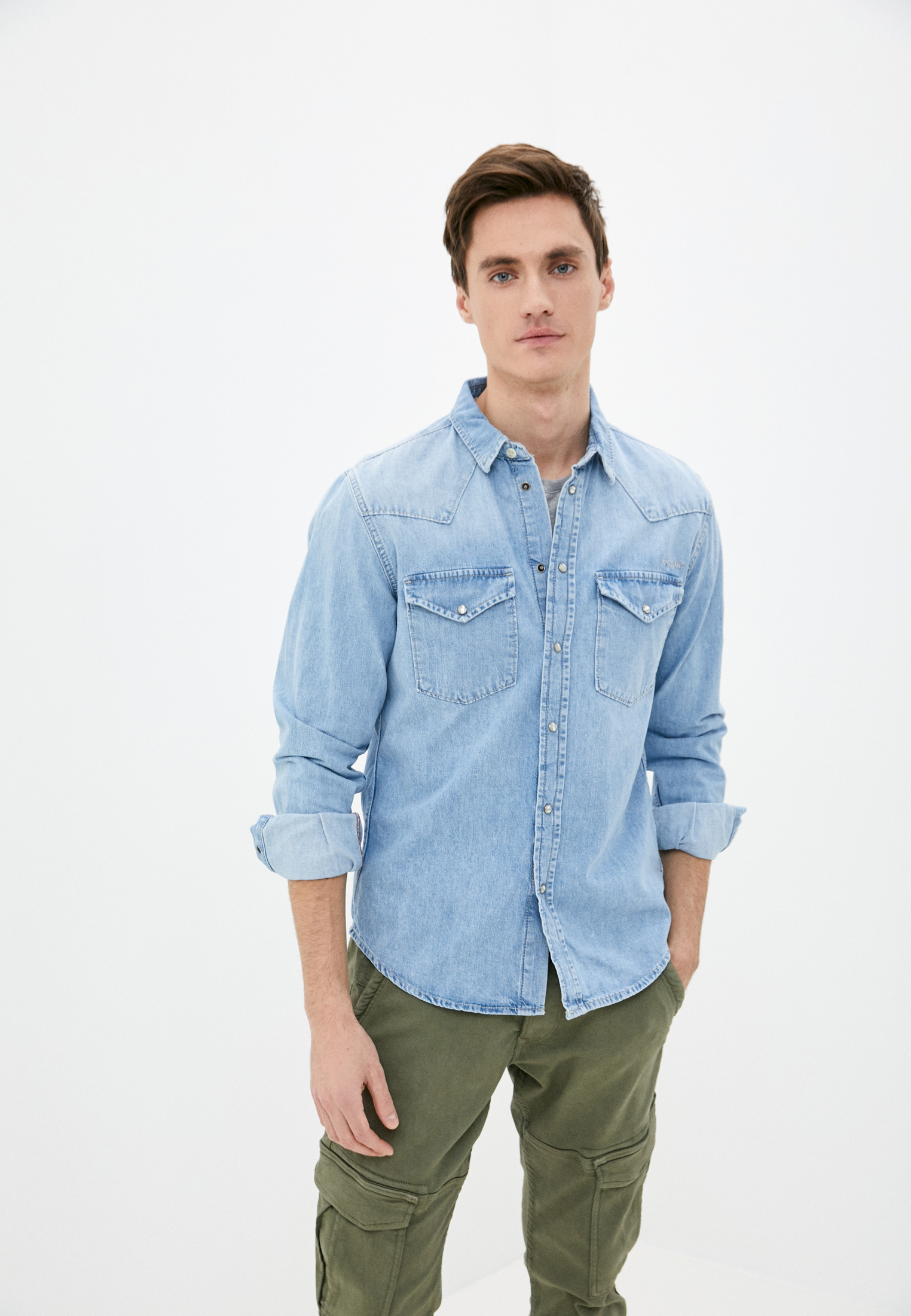Рубашка Pepe Jeans (Пепе Джинс) PM307018: изображение 1