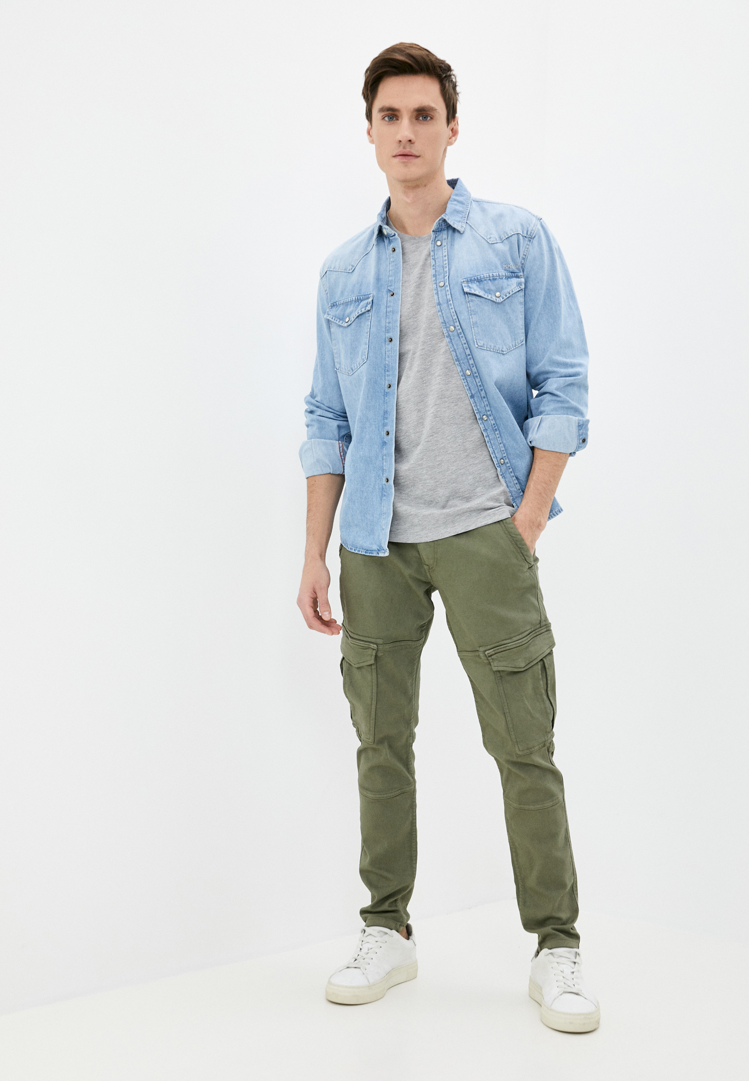 Рубашка Pepe Jeans (Пепе Джинс) PM307018: изображение 2