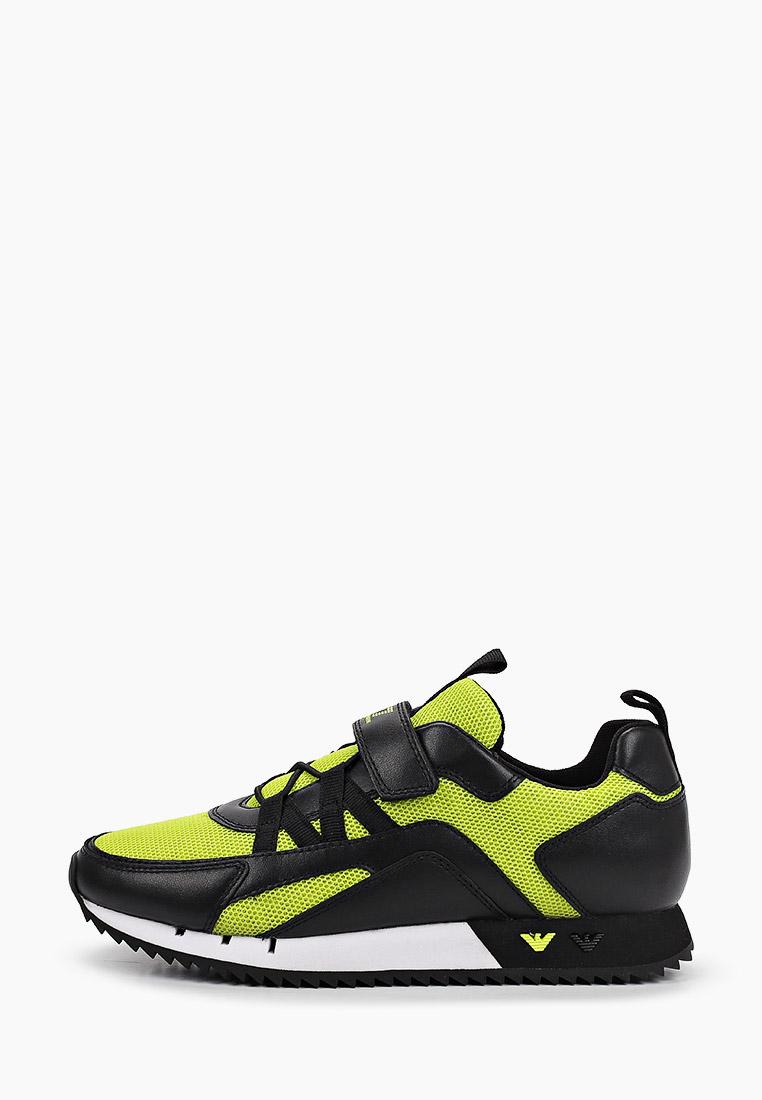 Кроссовки для мальчиков EA7 XSX013 XOT32