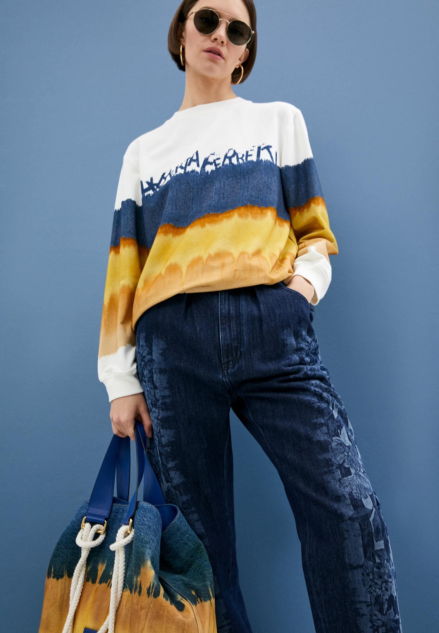Прямые джинсы Alberta Ferretti A03131678: изображение 2