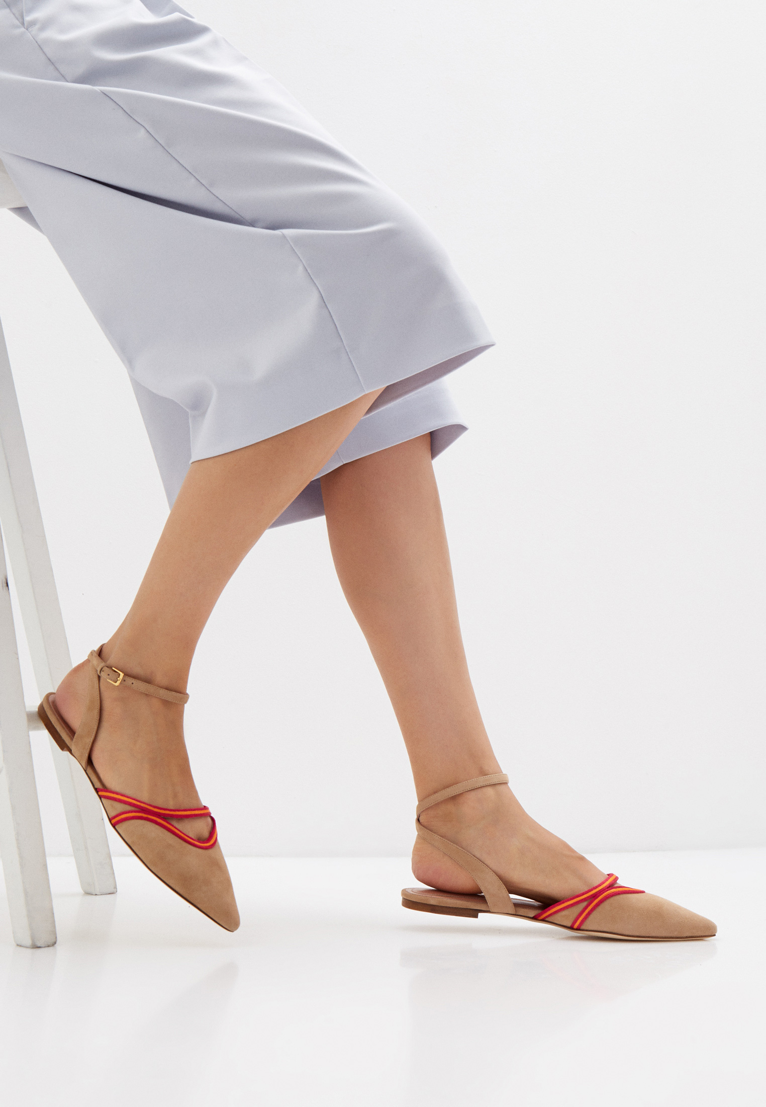 Женские туфли Alberta Ferretti A66018004: изображение 6