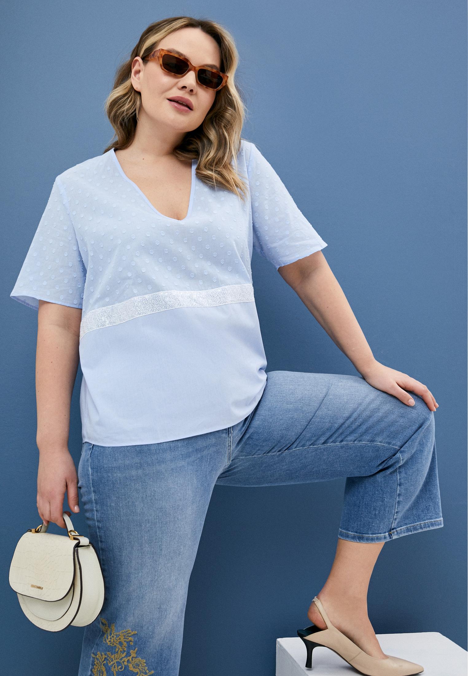 Блуза Persona by Marina Rinaldi 1111301: изображение 2