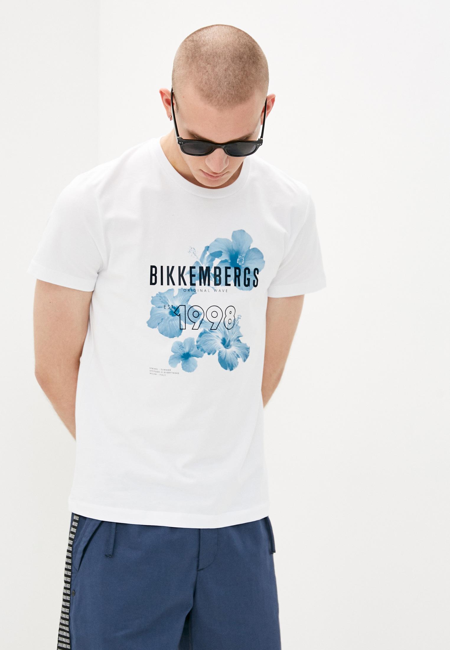 Мужская футболка Bikkembergs (Биккембергс) C 4 101 27 E 2231