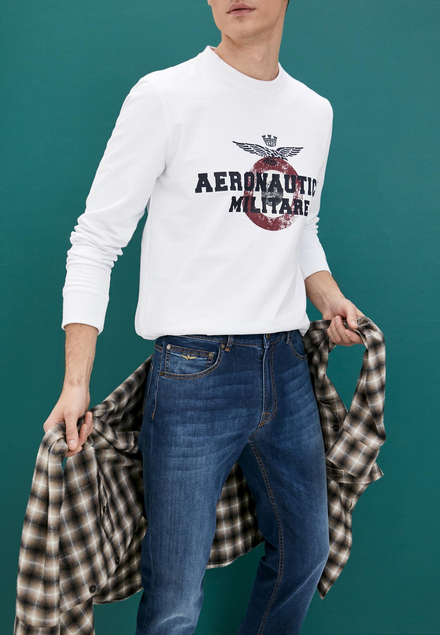Зауженные джинсы Aeronautica Militare PJ171CT2670: изображение 2