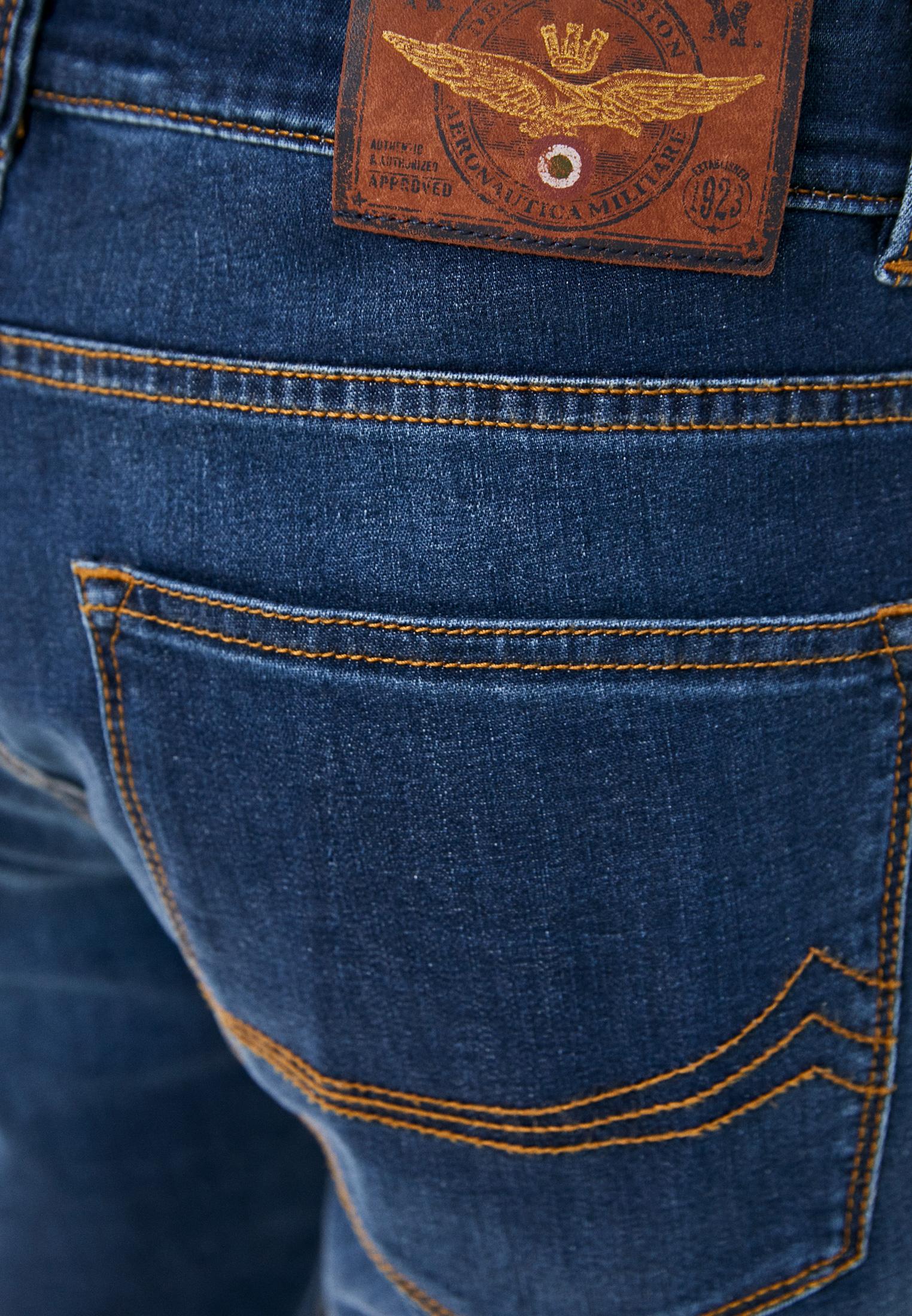 Зауженные джинсы Aeronautica Militare PJ171CT2670: изображение 5