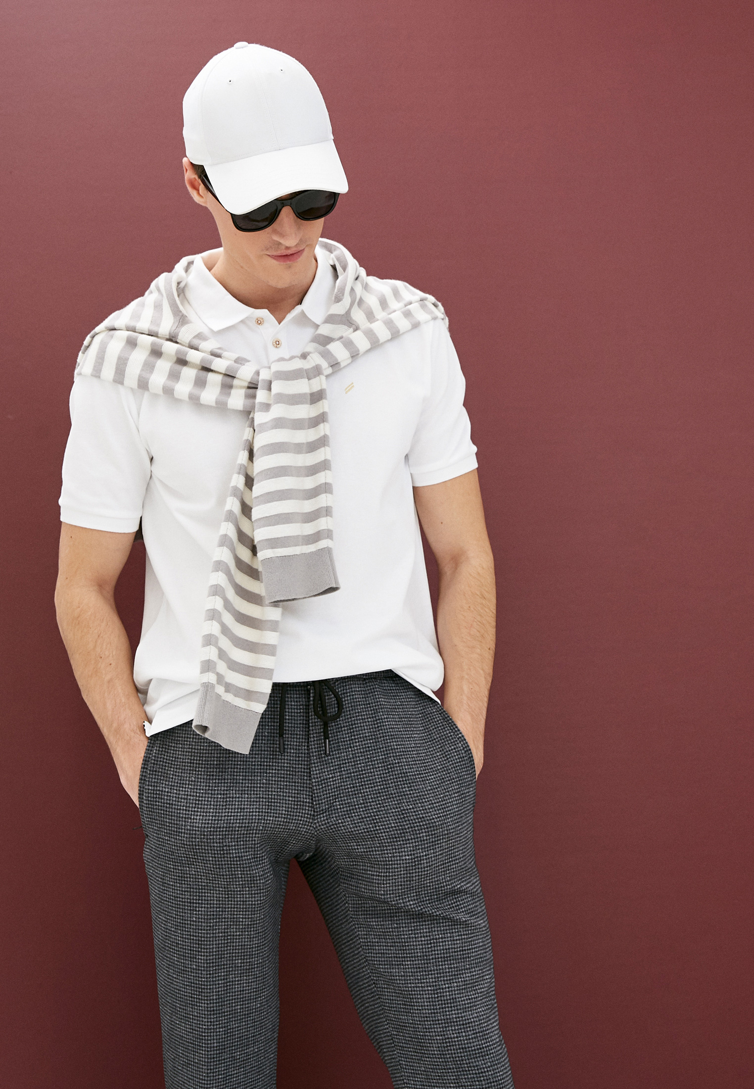 Мужские повседневные брюки DANIEL HECHTER 11130825262: изображение 2