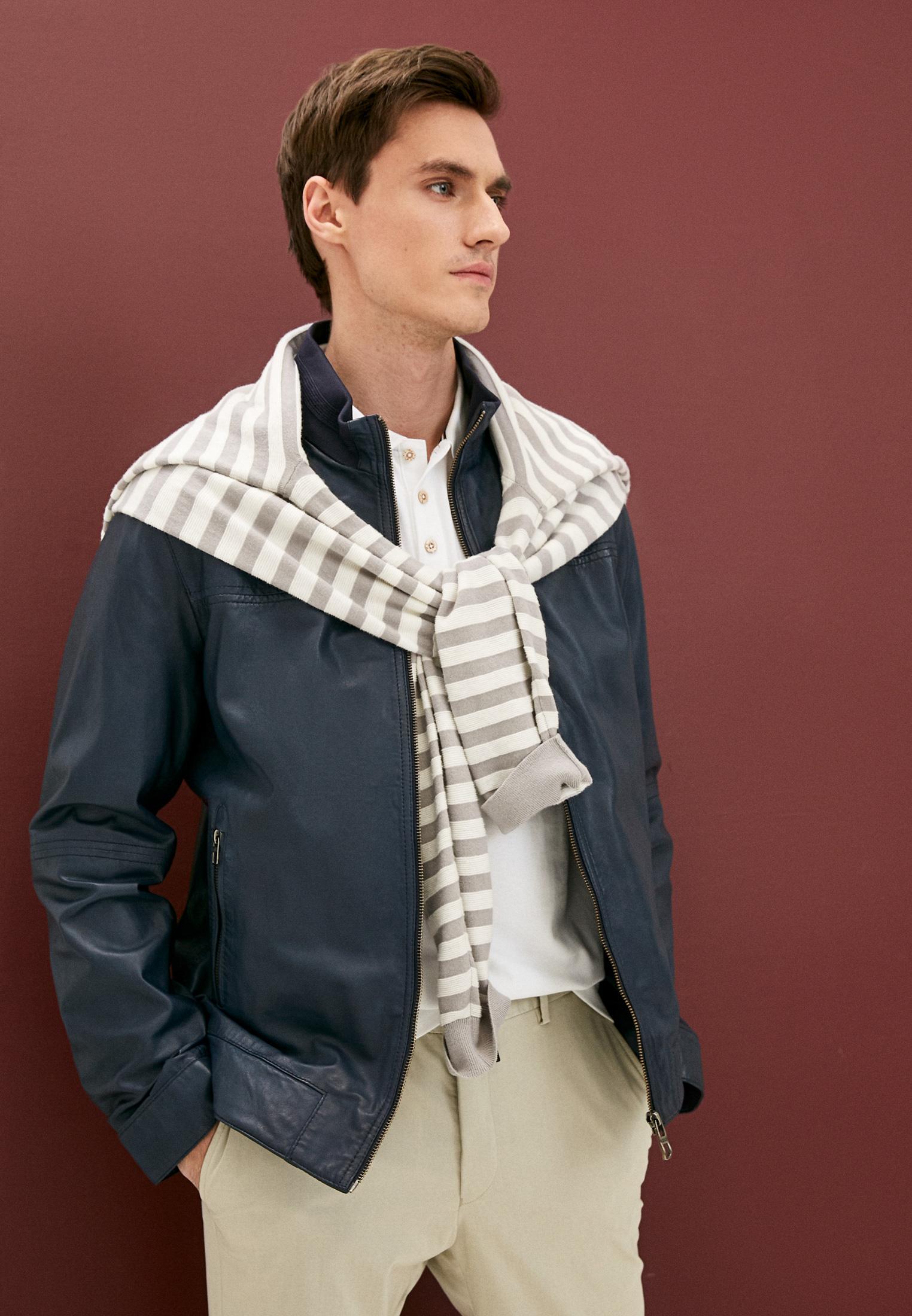 Кожаная куртка DANIEL HECHTER 11142555301: изображение 3