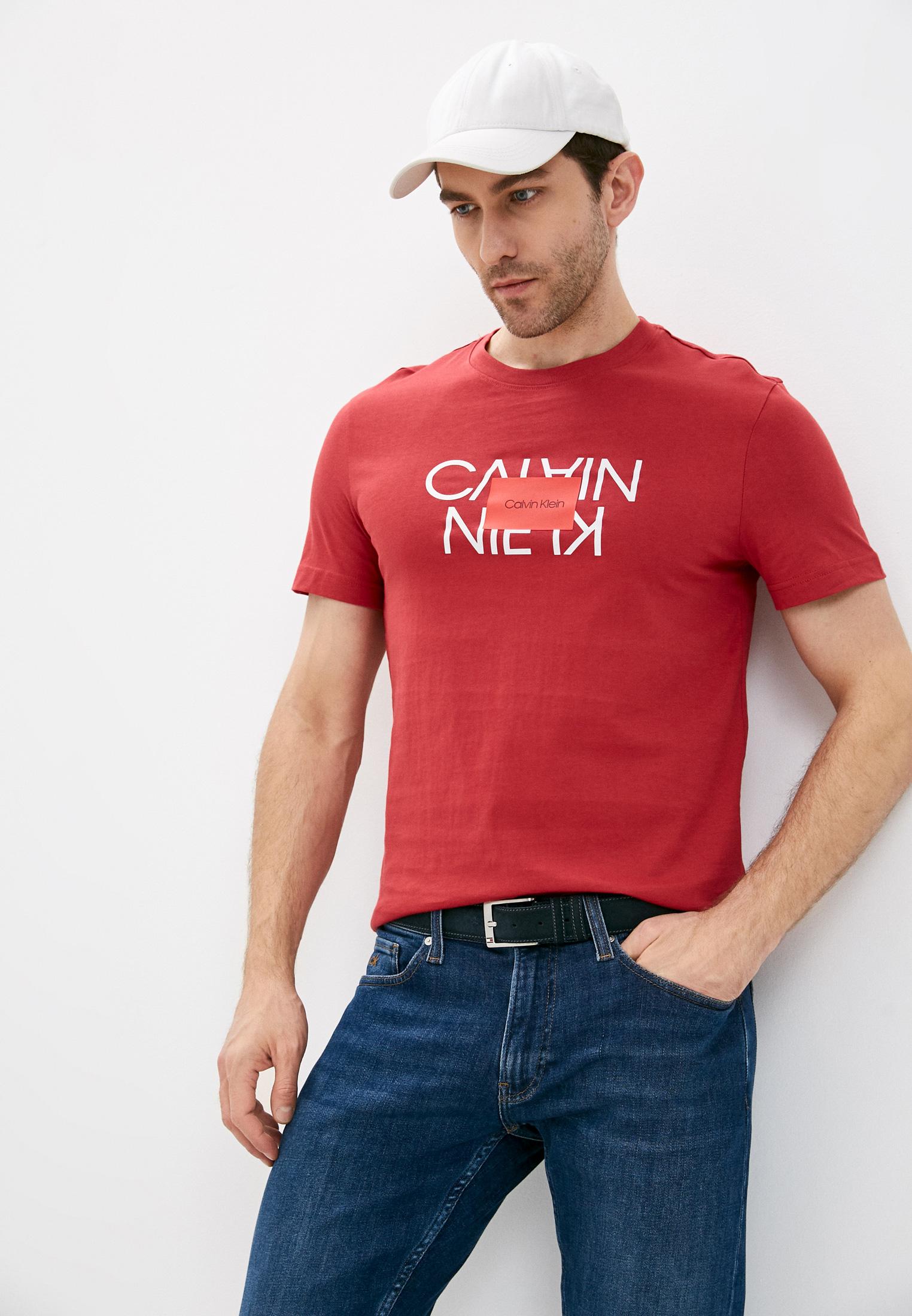Мужская футболка Calvin Klein (Кельвин Кляйн) K10K106489
