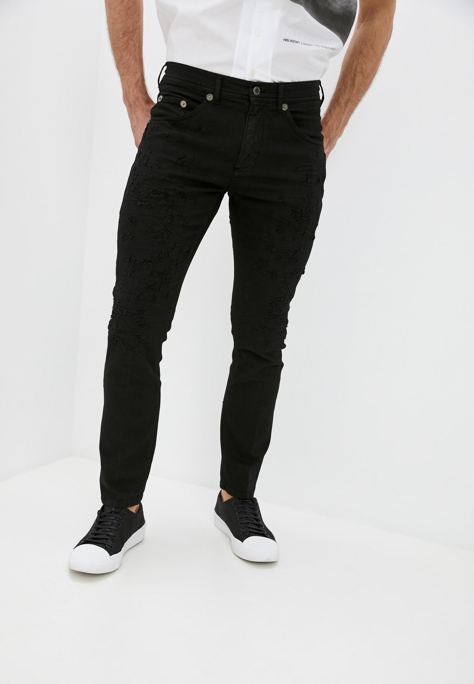 Зауженные джинсы Neil Barrett PBDE314X-Q805T: изображение 1