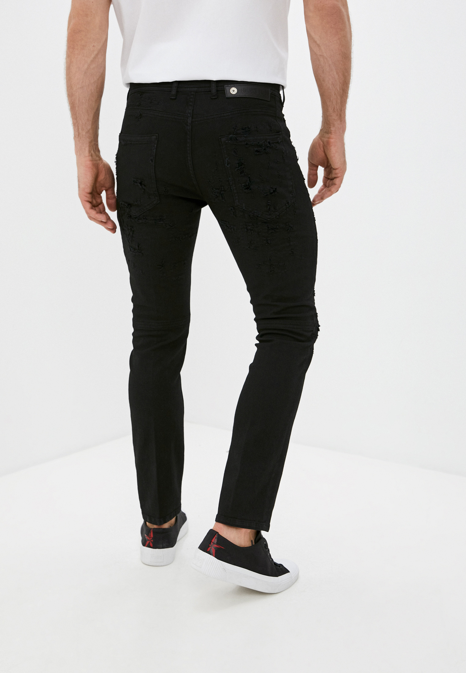 Зауженные джинсы Neil Barrett PBDE314X-Q805T: изображение 4