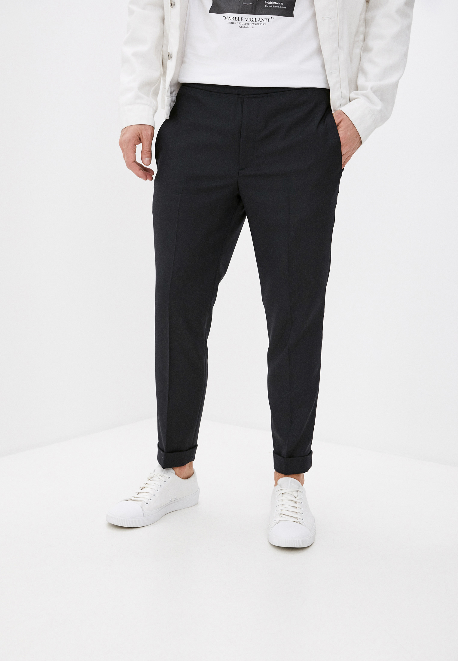 Мужские повседневные брюки Neil Barrett Брюки Neil Barrett