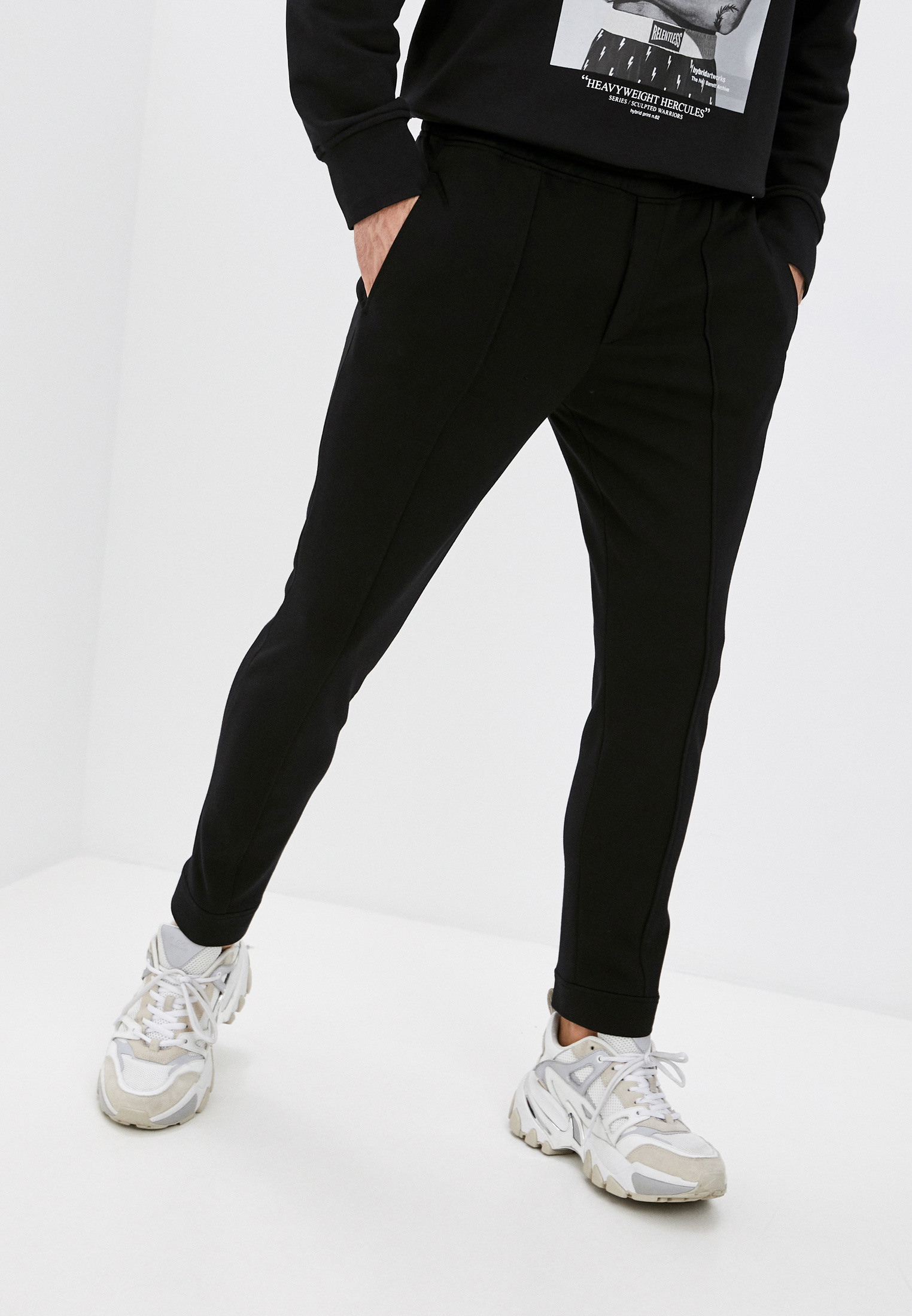 Мужские спортивные брюки Neil Barrett PBPA799-Q002