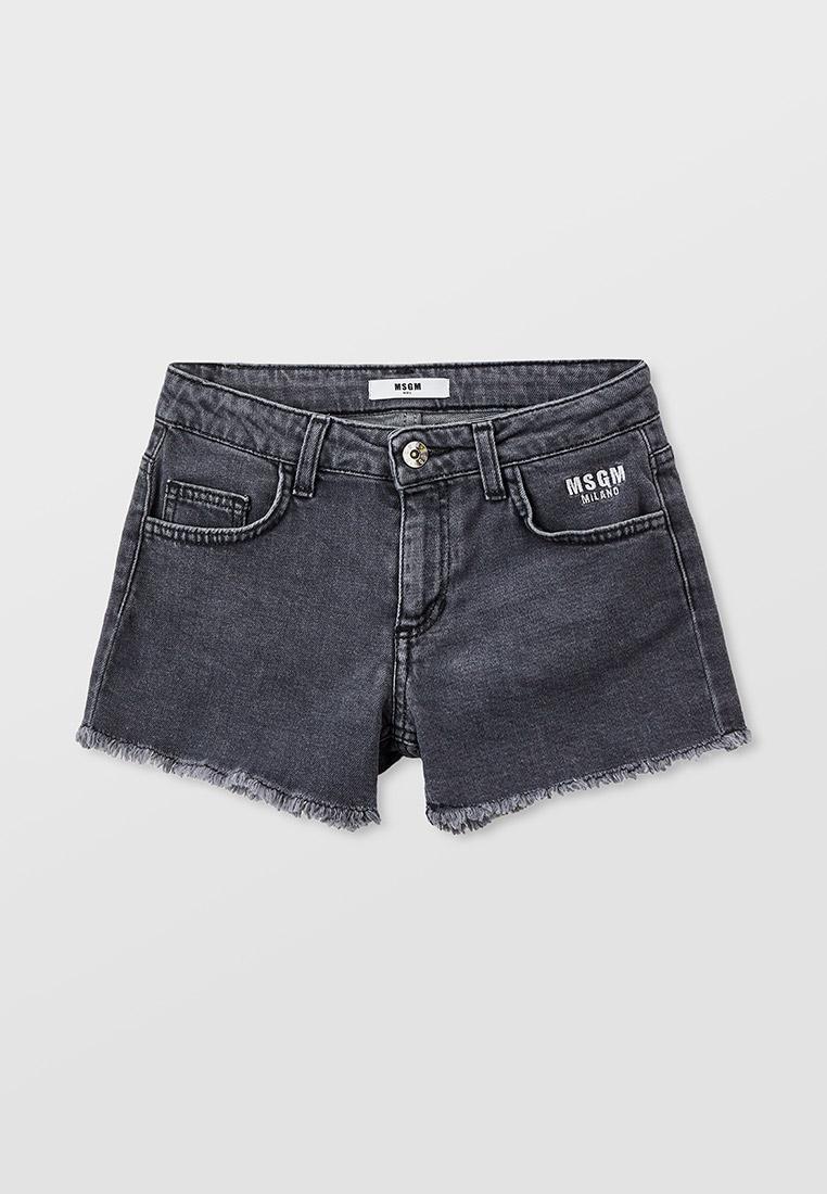 Шорты для девочек MSGM Kids Шорты джинсовые MSGM Kids