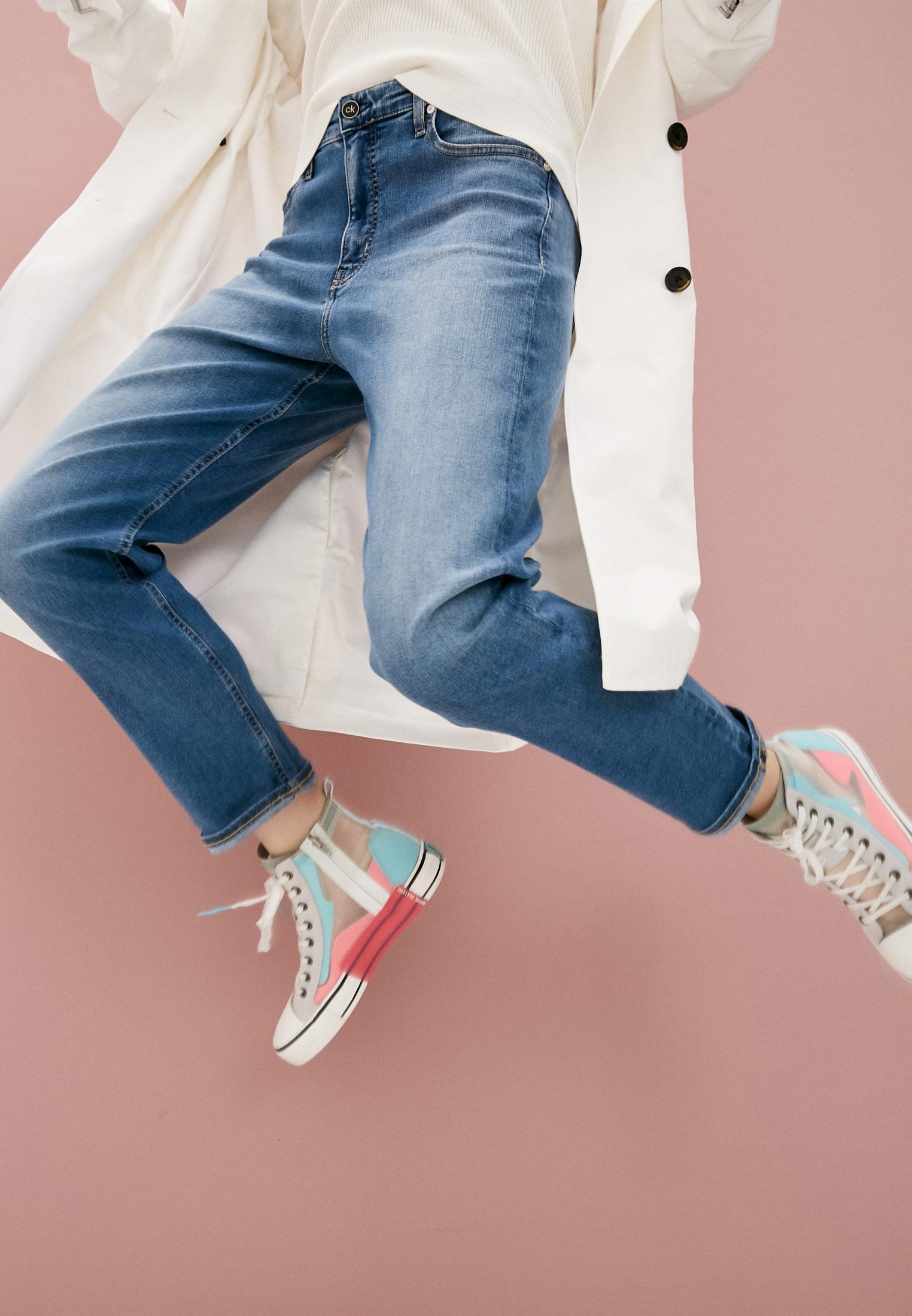 Прямые джинсы Calvin Klein (Кельвин Кляйн) K20K202985: изображение 2