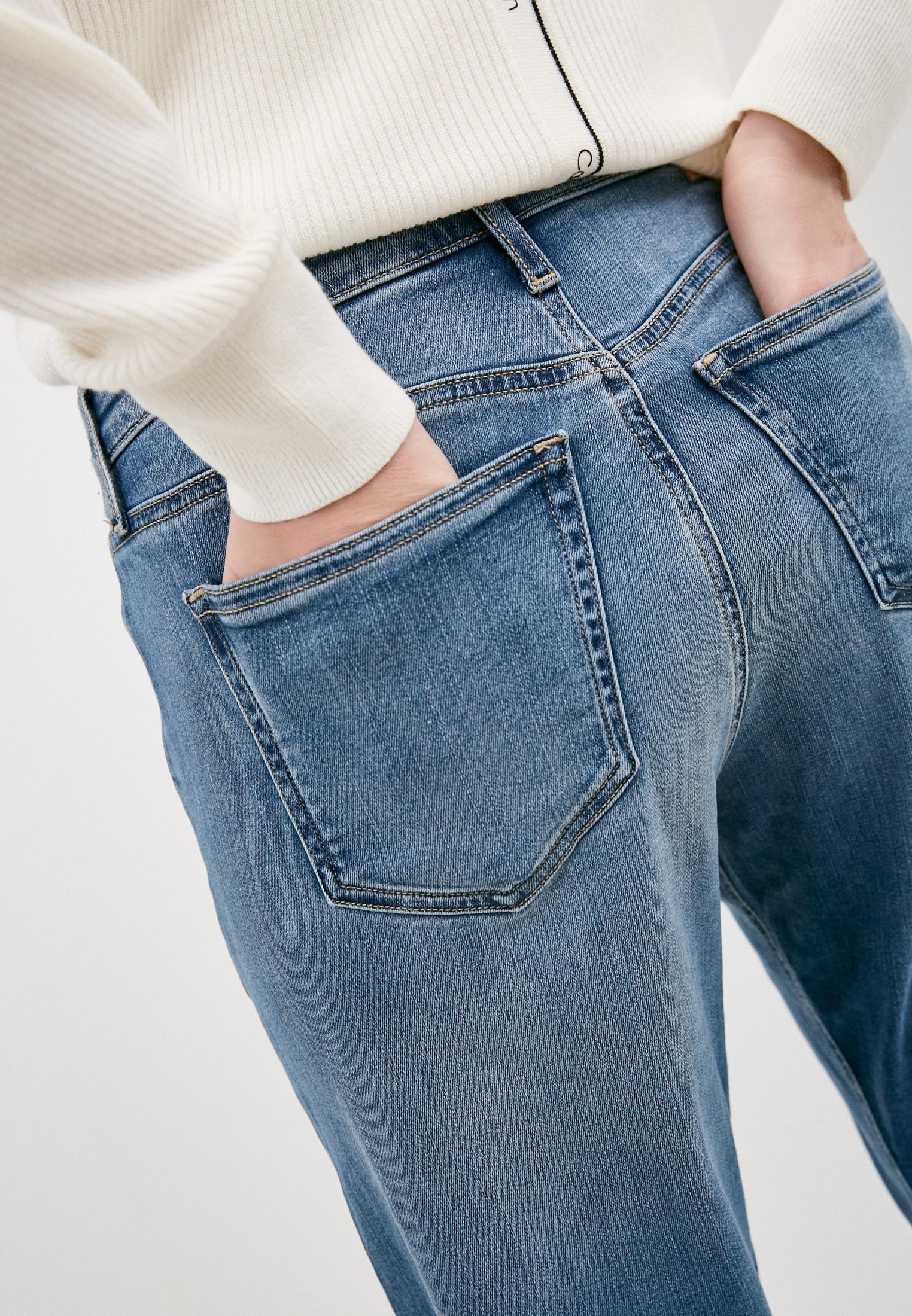 Прямые джинсы Calvin Klein (Кельвин Кляйн) K20K202985: изображение 5