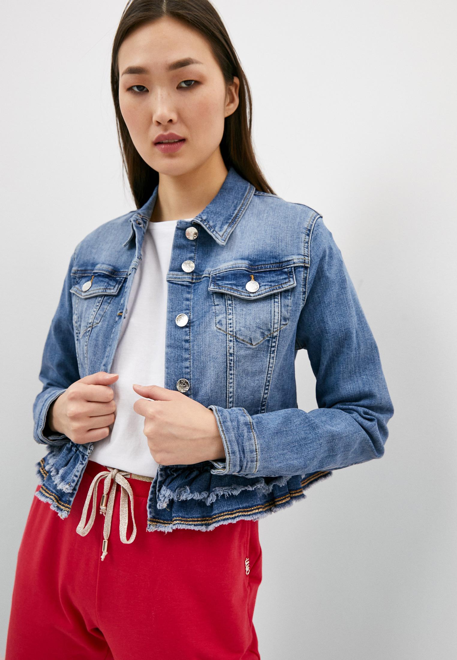 Джинсовая куртка Liu Jo (Лиу Джо) UA1070 D4590