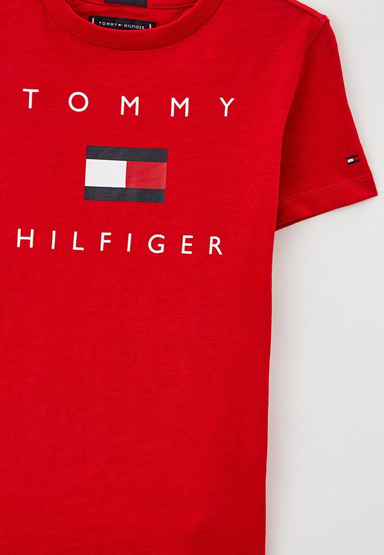 Футболка с коротким рукавом Tommy Hilfiger (Томми Хилфигер) KB0KB06523: изображение 3