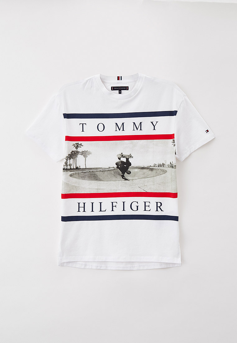 Футболка с коротким рукавом Tommy Hilfiger (Томми Хилфигер) KB0KB06528