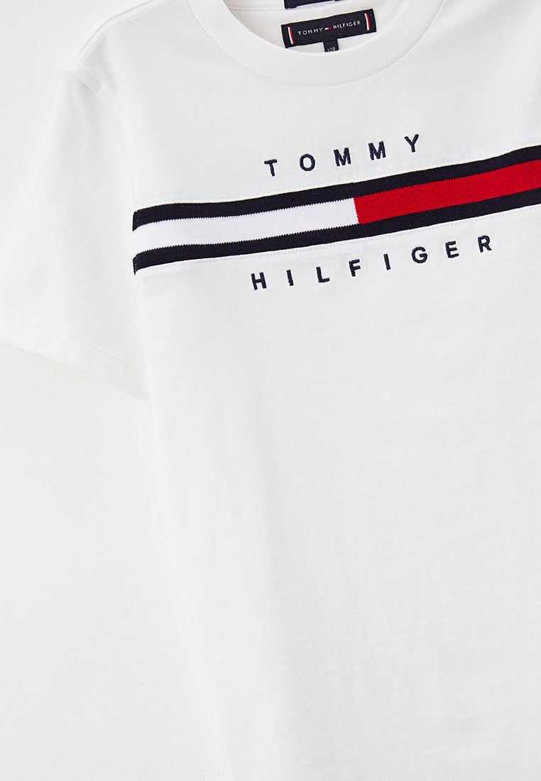 Футболка с коротким рукавом Tommy Hilfiger (Томми Хилфигер) KB0KB06532: изображение 3