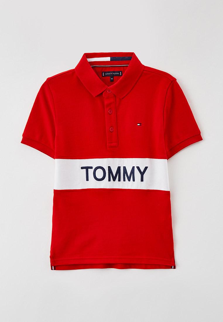 Поло Tommy Hilfiger (Томми Хилфигер) KB0KB06539: изображение 1