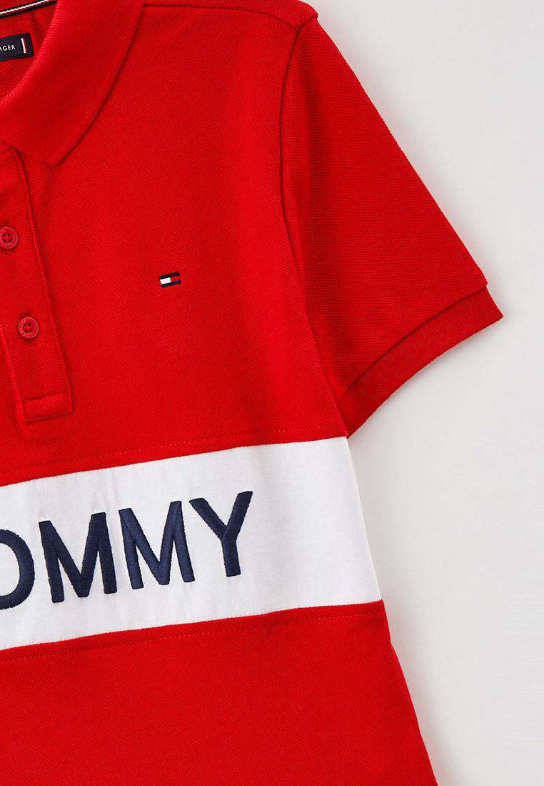 Поло Tommy Hilfiger (Томми Хилфигер) KB0KB06539: изображение 3