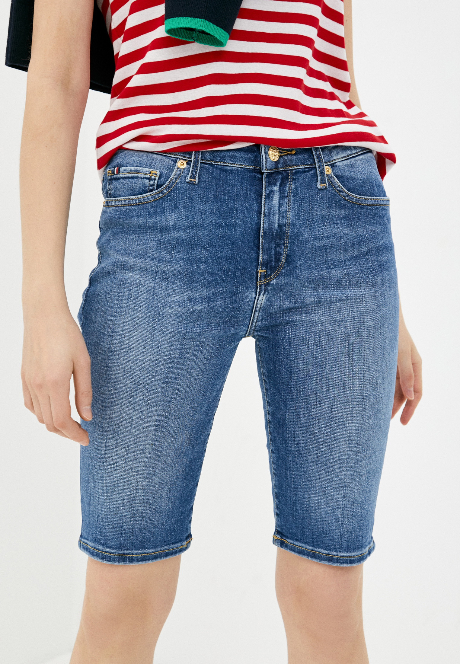 Женские джинсовые шорты Tommy Hilfiger (Томми Хилфигер) Шорты джинсовые Tommy Hilfiger