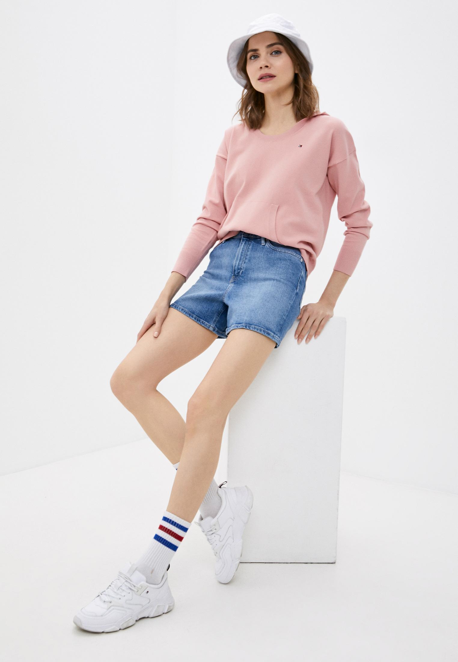 Женские джинсовые шорты Tommy Hilfiger (Томми Хилфигер) WW0WW30529: изображение 2