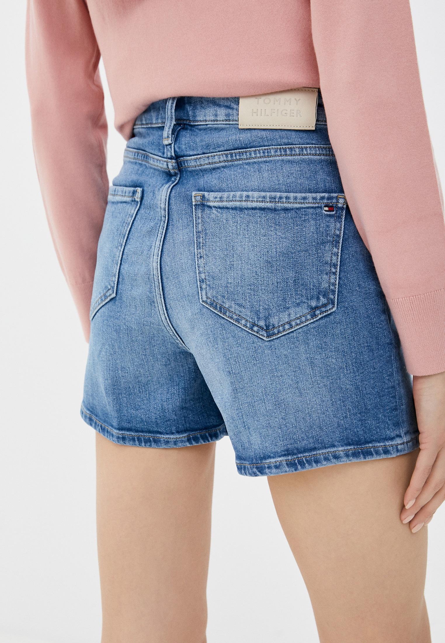 Женские джинсовые шорты Tommy Hilfiger (Томми Хилфигер) WW0WW30529: изображение 3