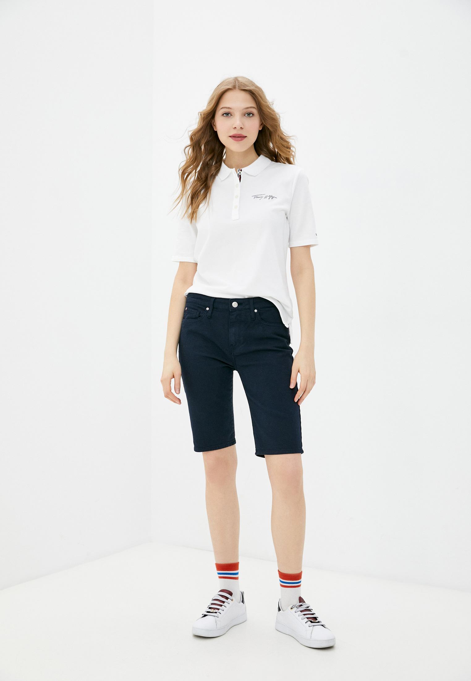 Женские джинсовые шорты Tommy Hilfiger (Томми Хилфигер) WW0WW30531: изображение 2