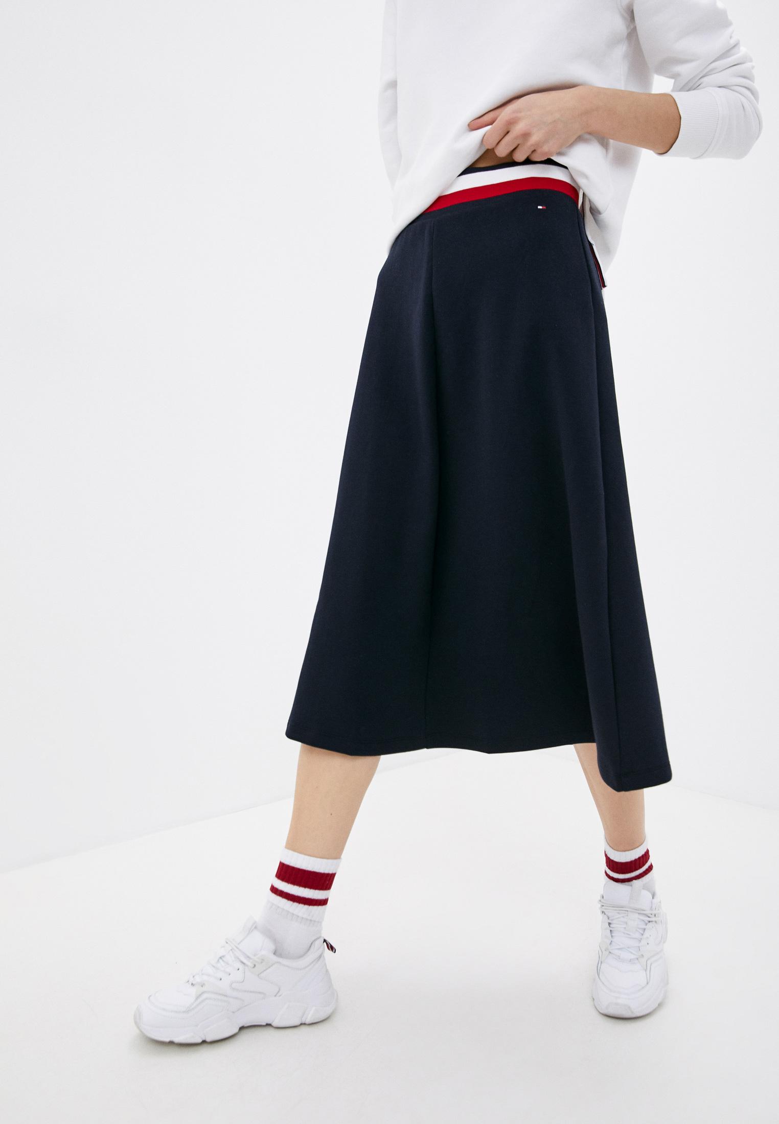 Широкая юбка Tommy Hilfiger (Томми Хилфигер) WW0WW30585: изображение 1