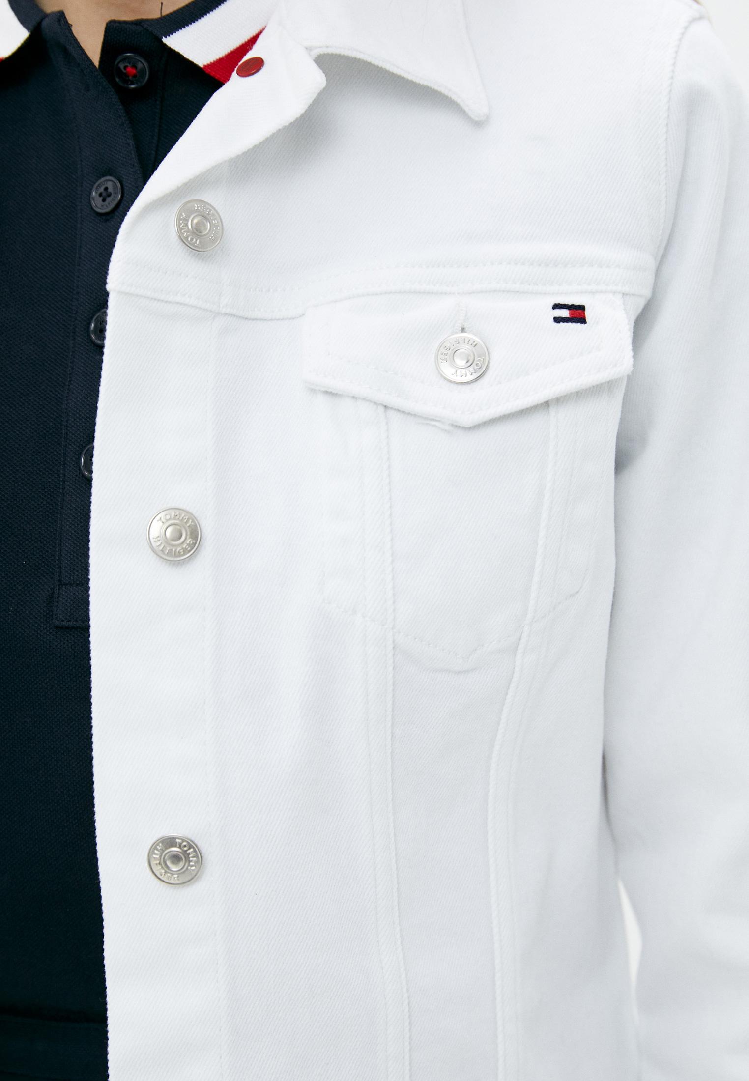 Джинсовая куртка Tommy Hilfiger (Томми Хилфигер) WW0WW30613: изображение 4