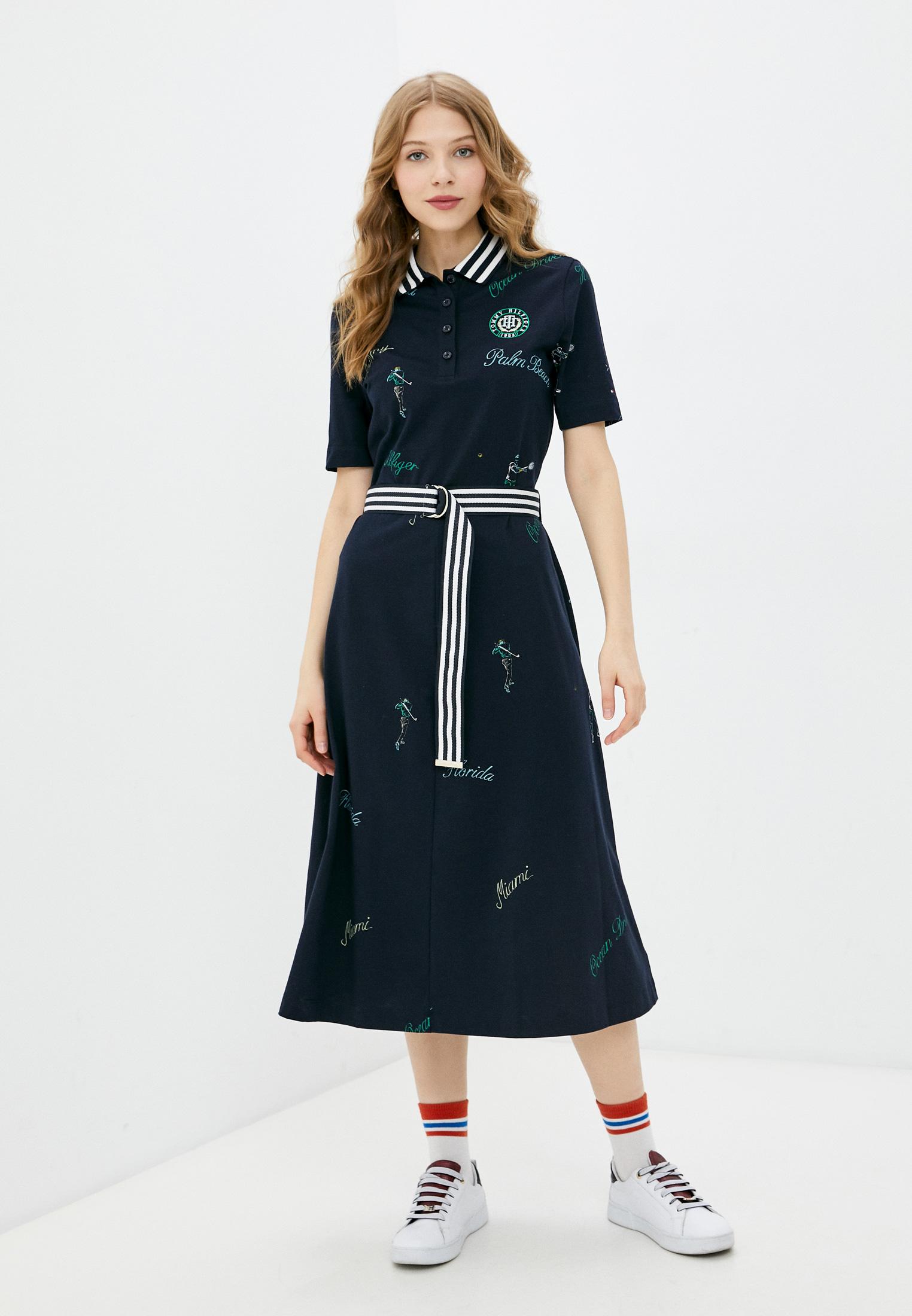 Платье Tommy Hilfiger (Томми Хилфигер) WW0WW30830: изображение 1
