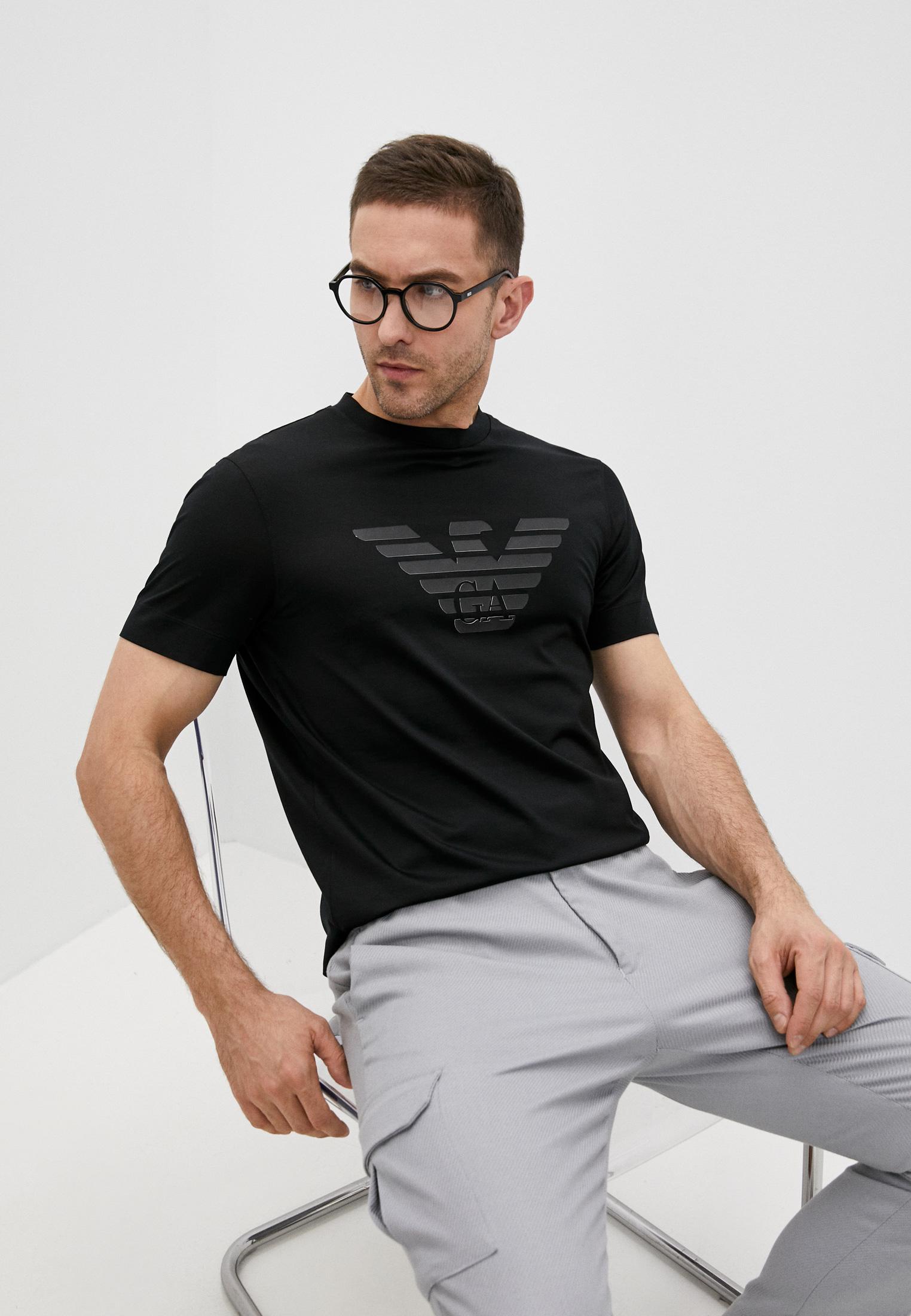 Мужская футболка Emporio Armani (Эмпорио Армани) 3K1TAG1JUVZ