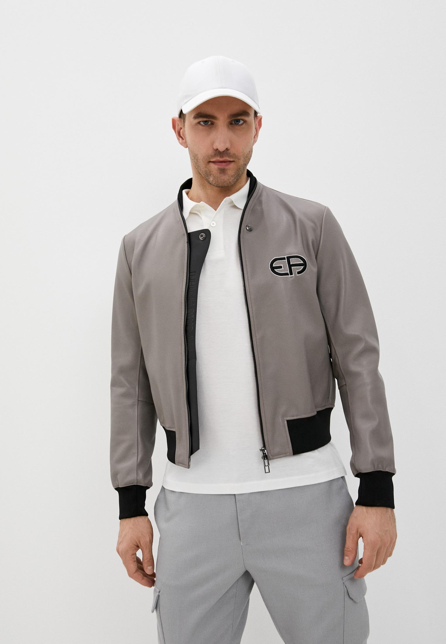 Кожаная куртка Emporio Armani (Эмпорио Армани) A1R07PA1P07